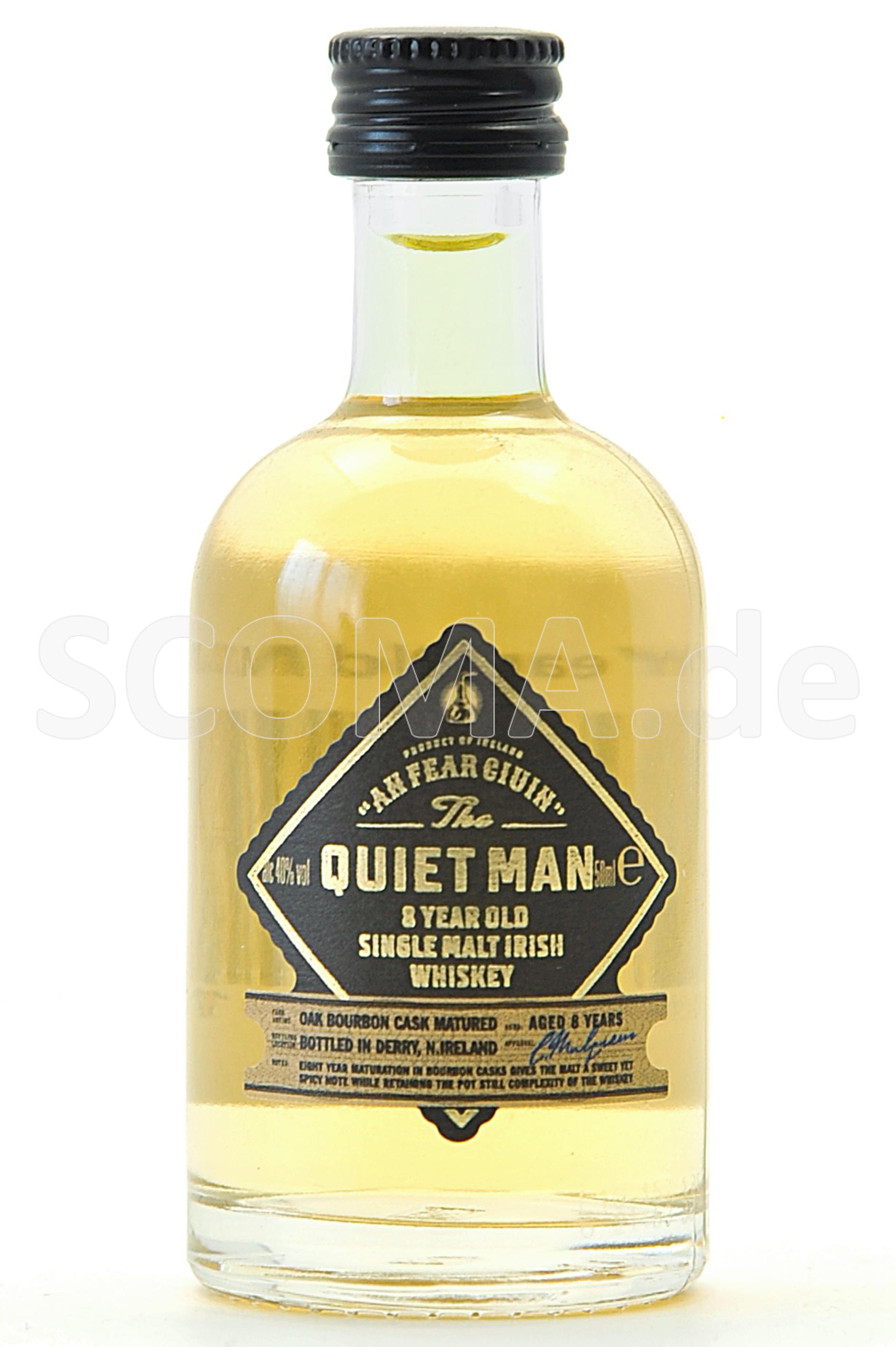 Quiet Man Single Malt Whiskey