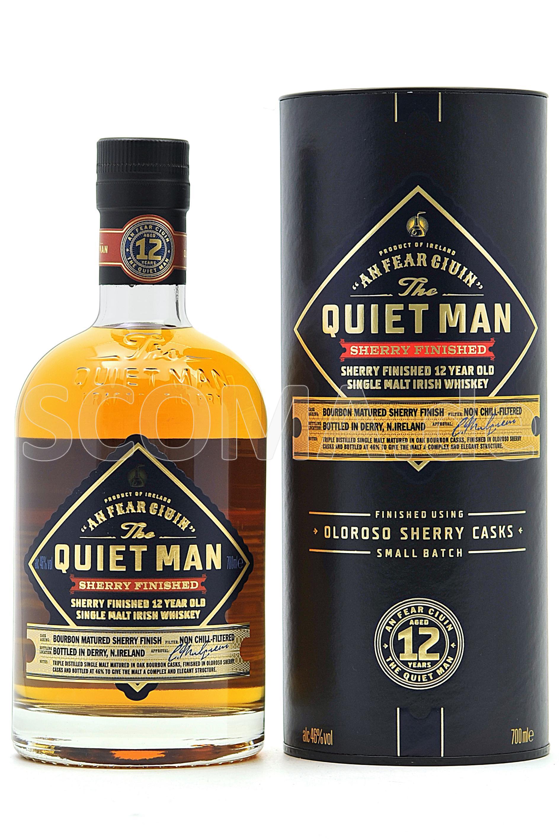 Quiet Man 12 Jahre Sherry Cask...