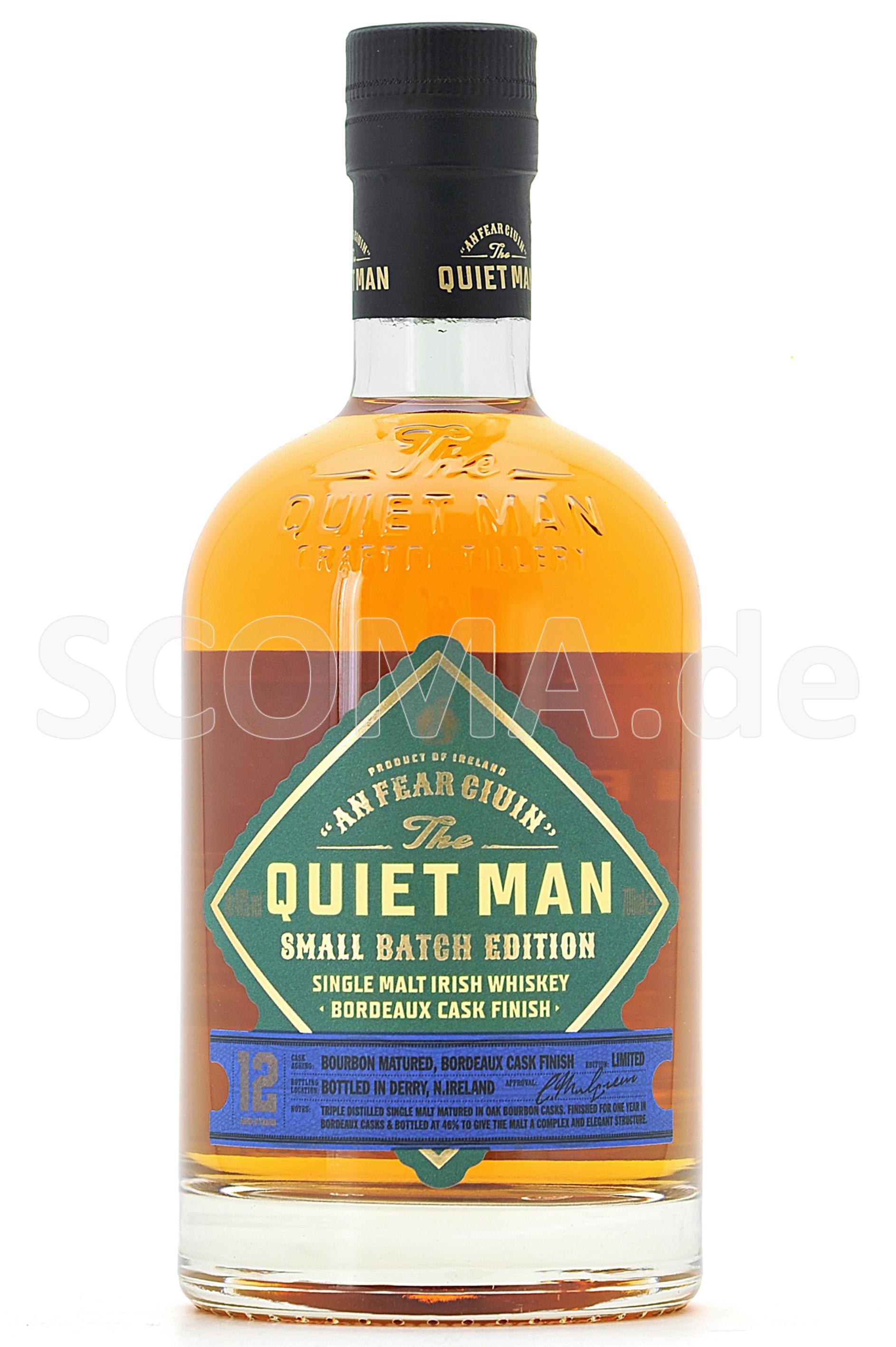 Quiet Man 12 Jahre Bordeaux Ca...