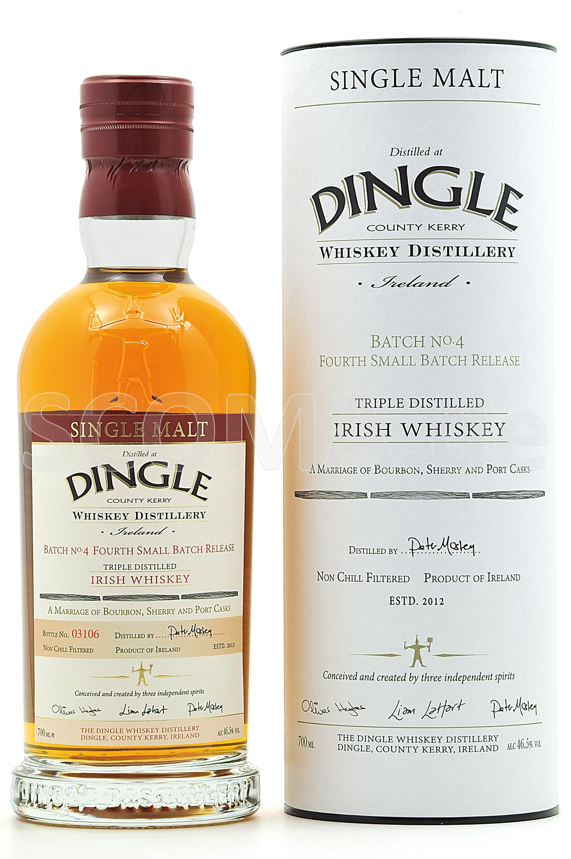 Dingle Single Malt Batch No.4