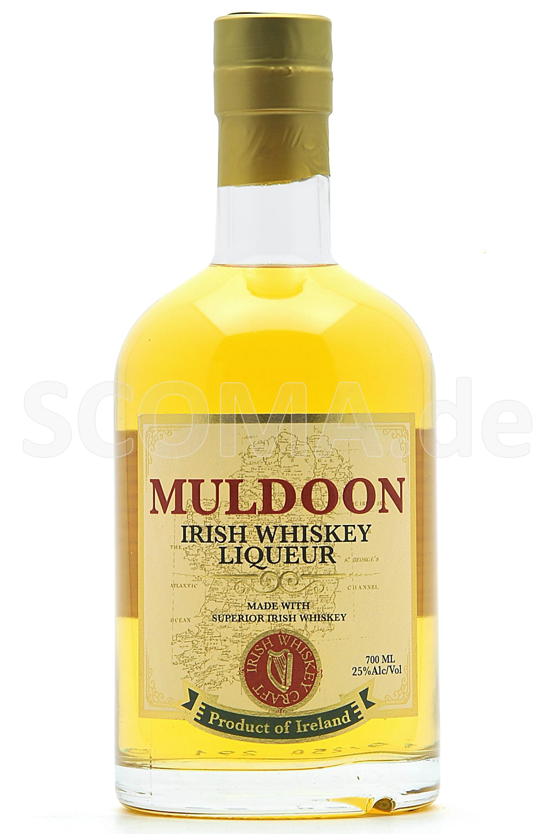 Muldoon Irish Whisky Liqueur