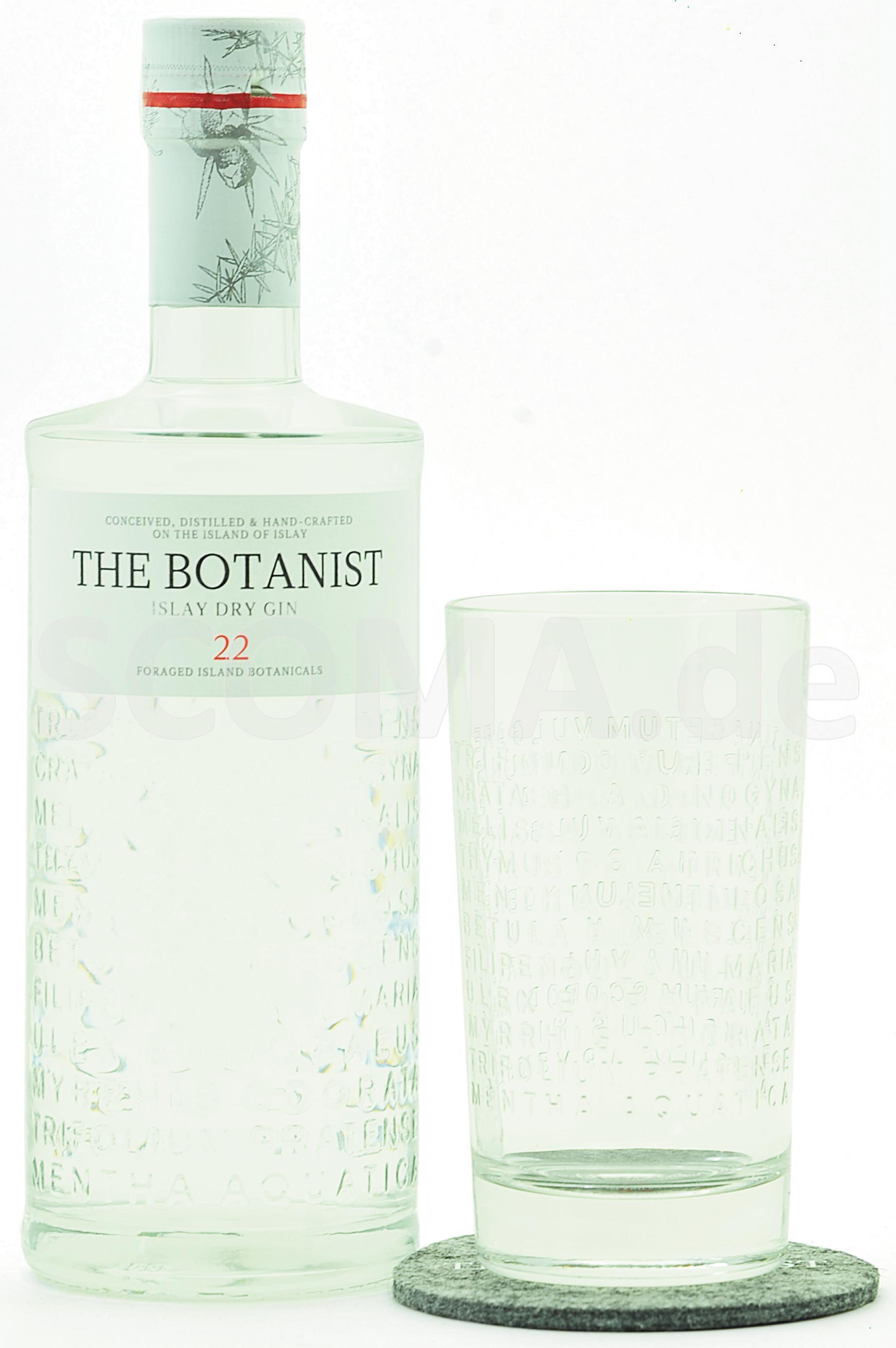 The Botanist Gin Set