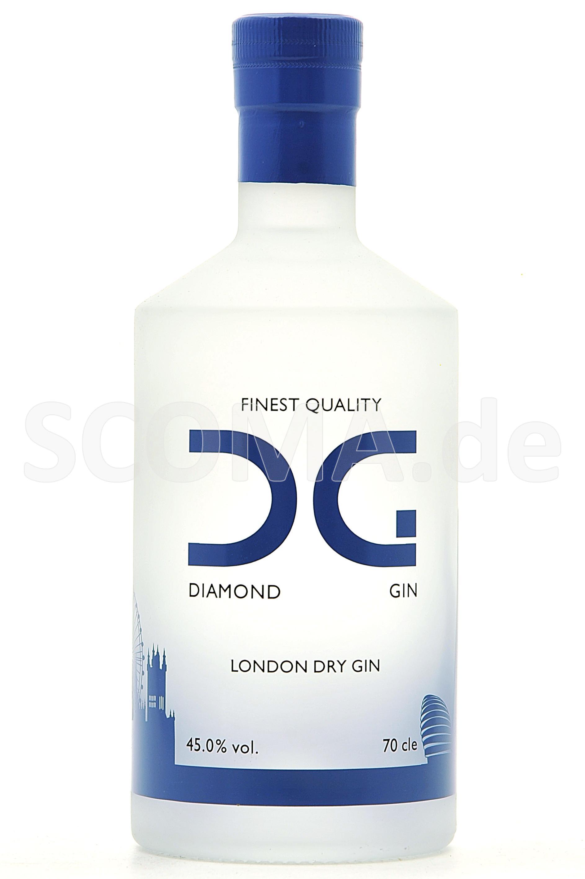Diamond Gin - Finest London Dr...