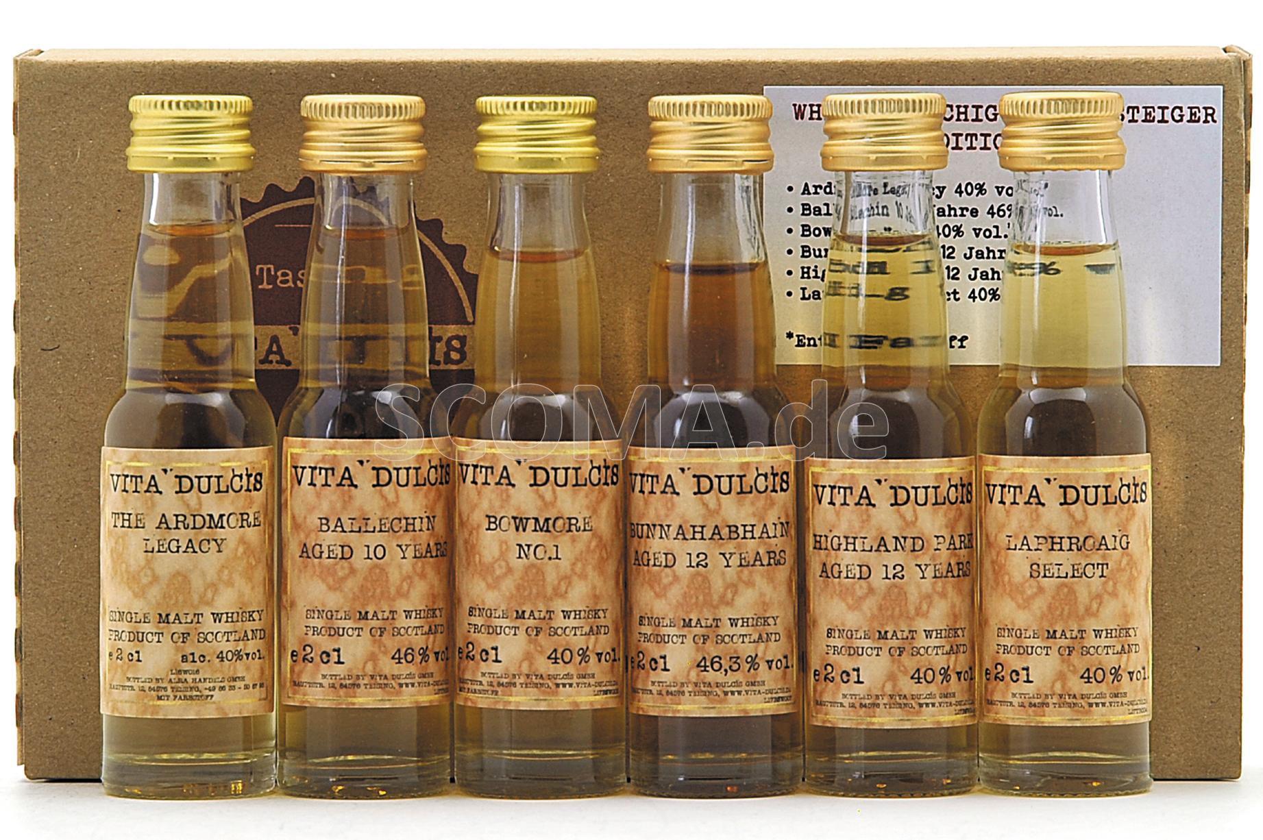 Tasting Box Whisky - Rauchig f...