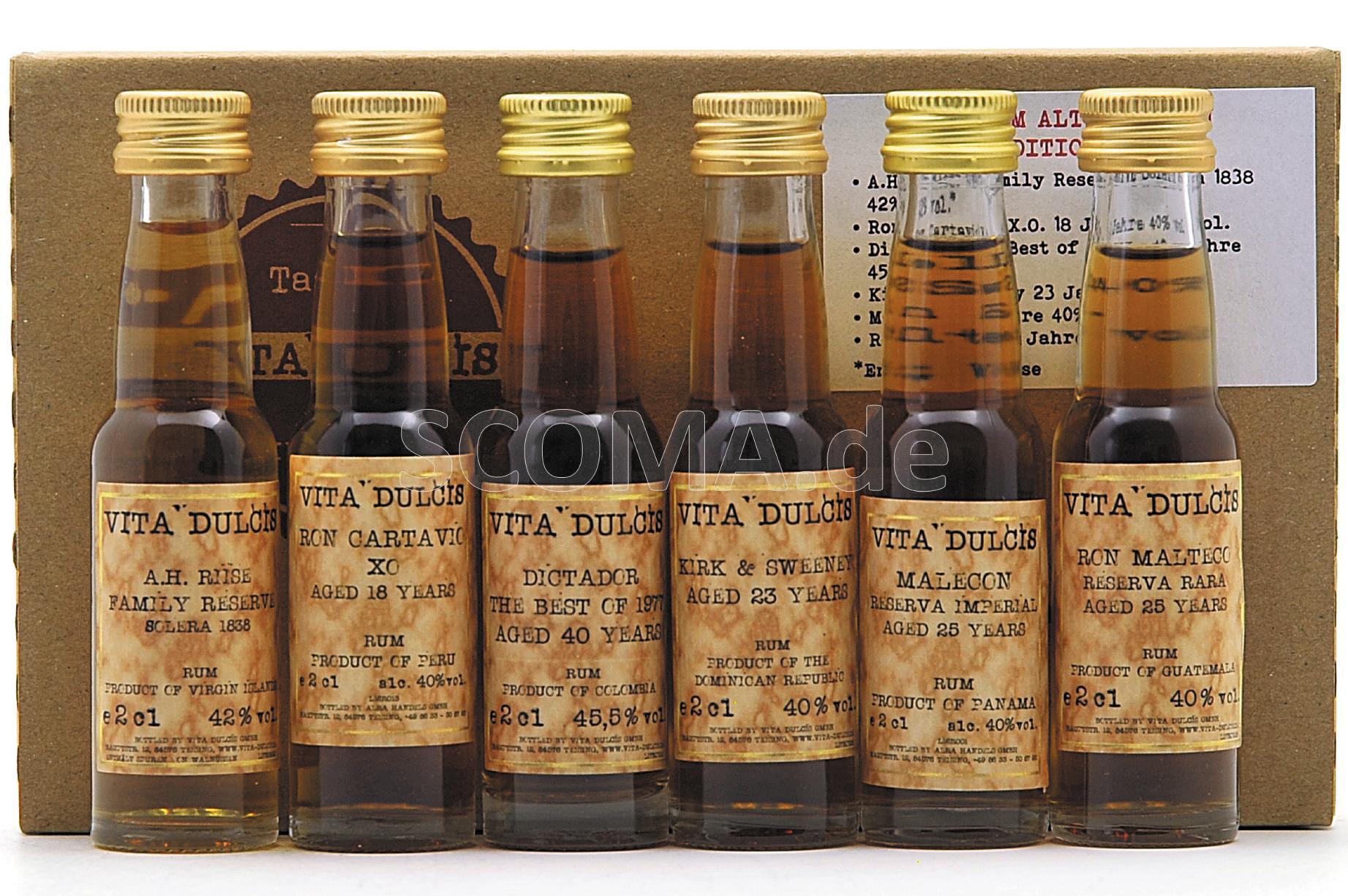 Tasting Box Rum - alt & selten