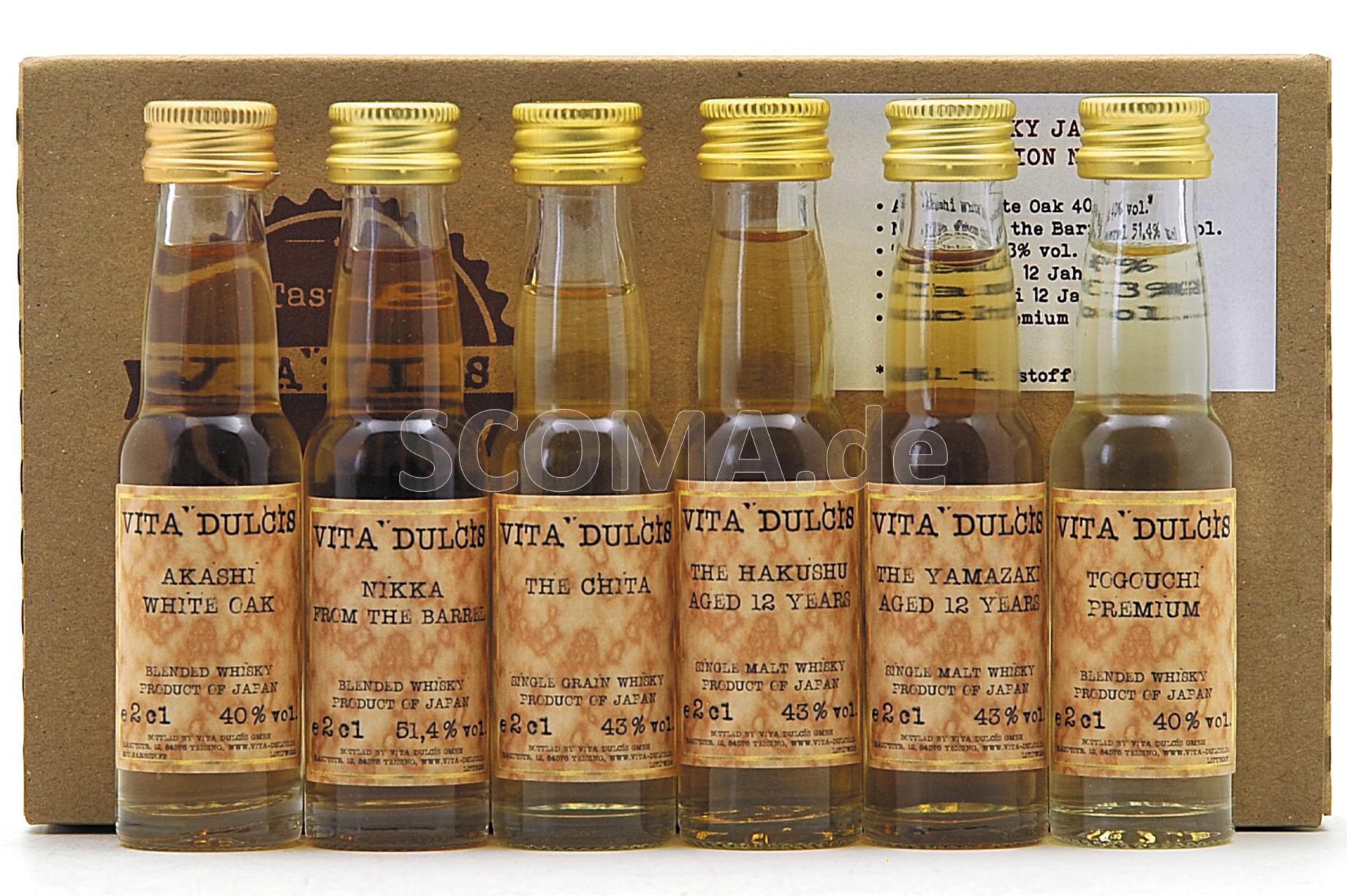 Tasting Box Whisky - Japan
