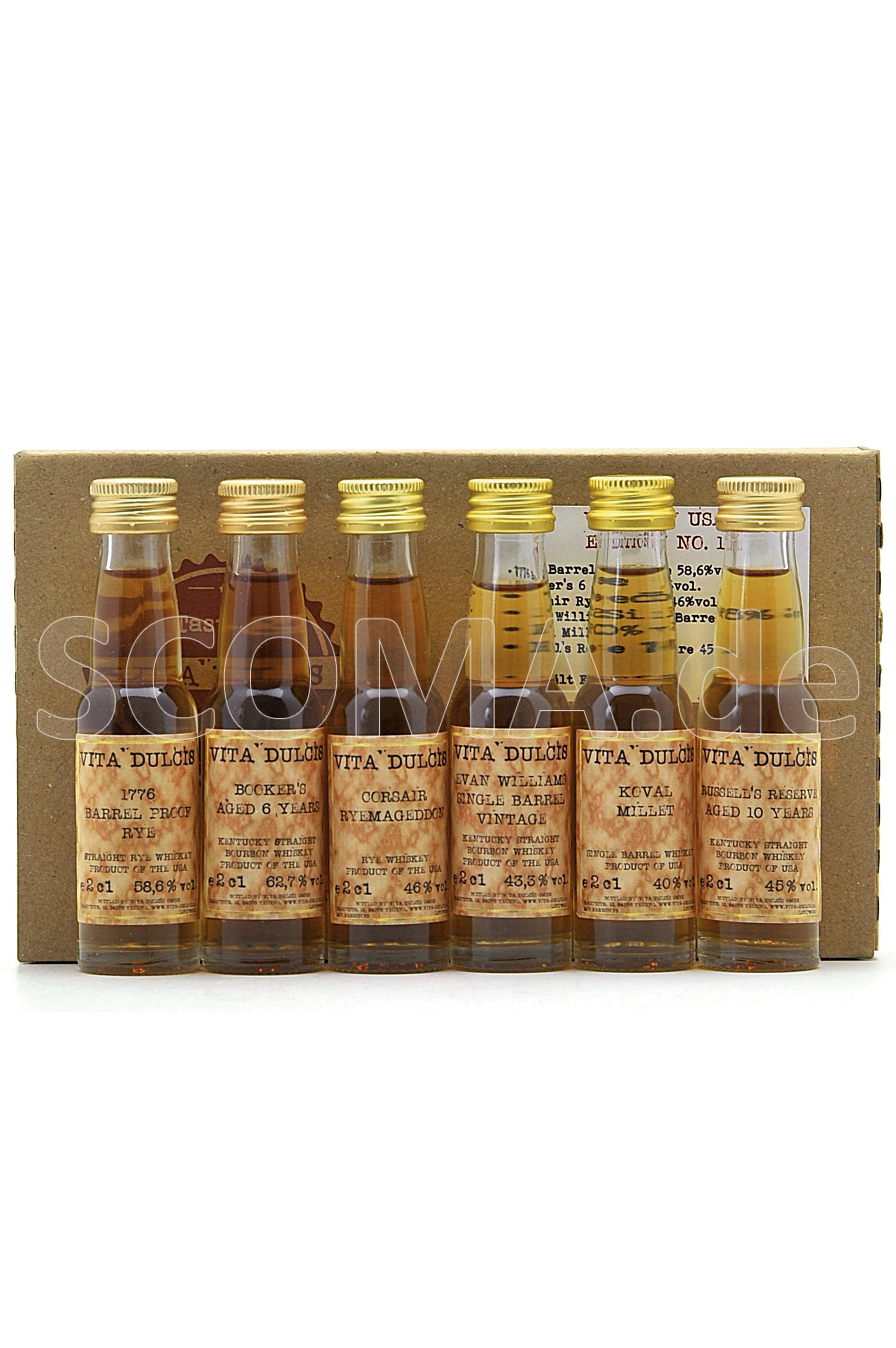 Tasting Box Whiskey USA Editio...