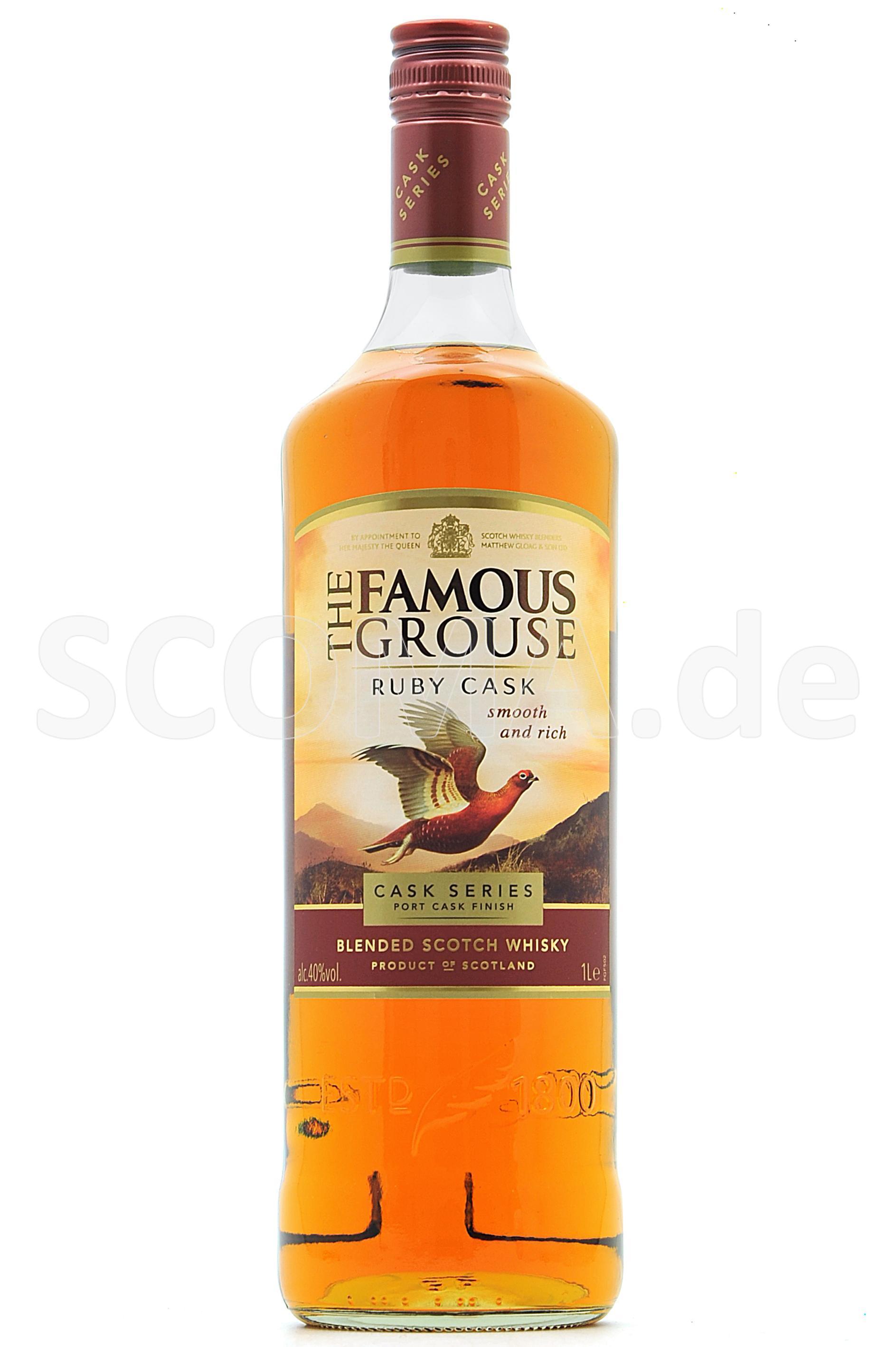 Famous Grouse Cask Series - Ru...