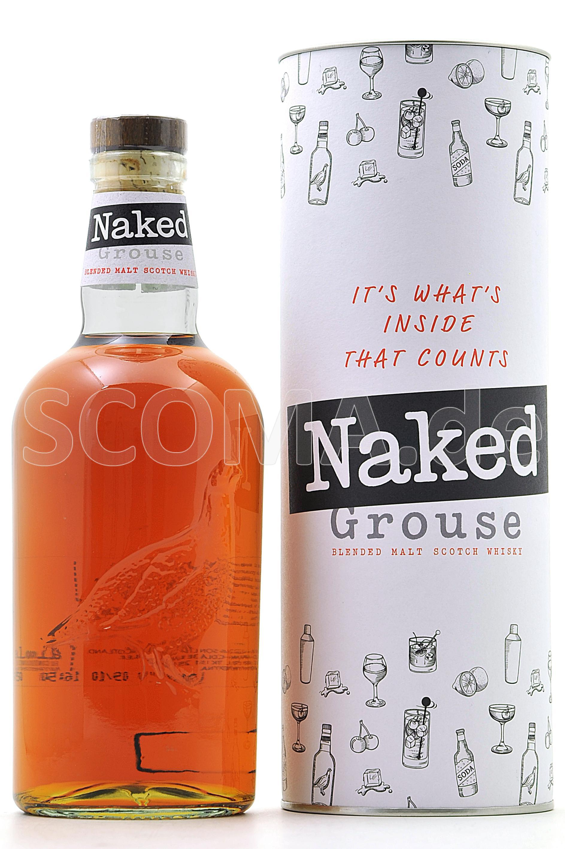 Naked Grouse with Giftpack