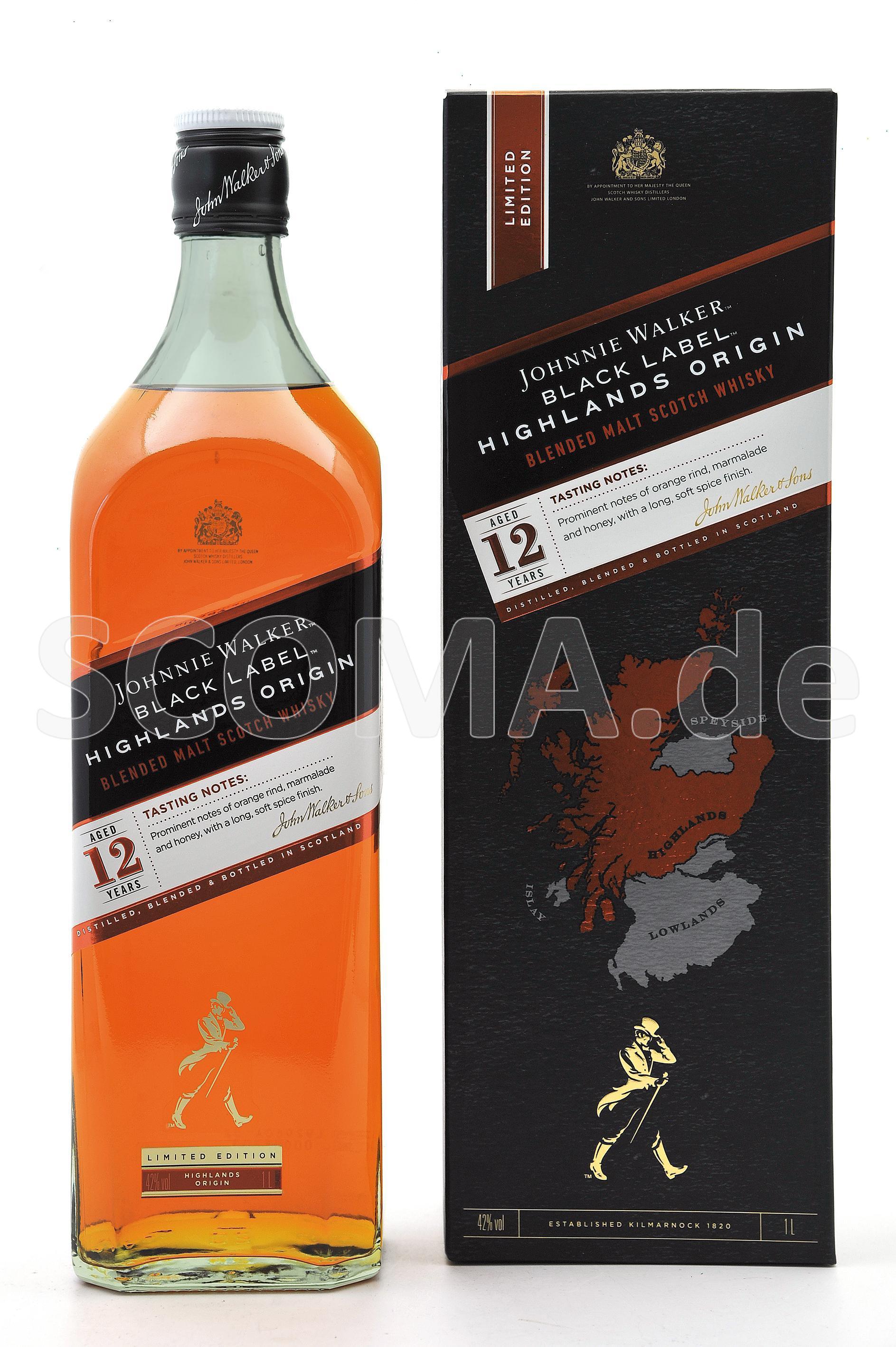 Johnnie Walker Black Label 12 ...