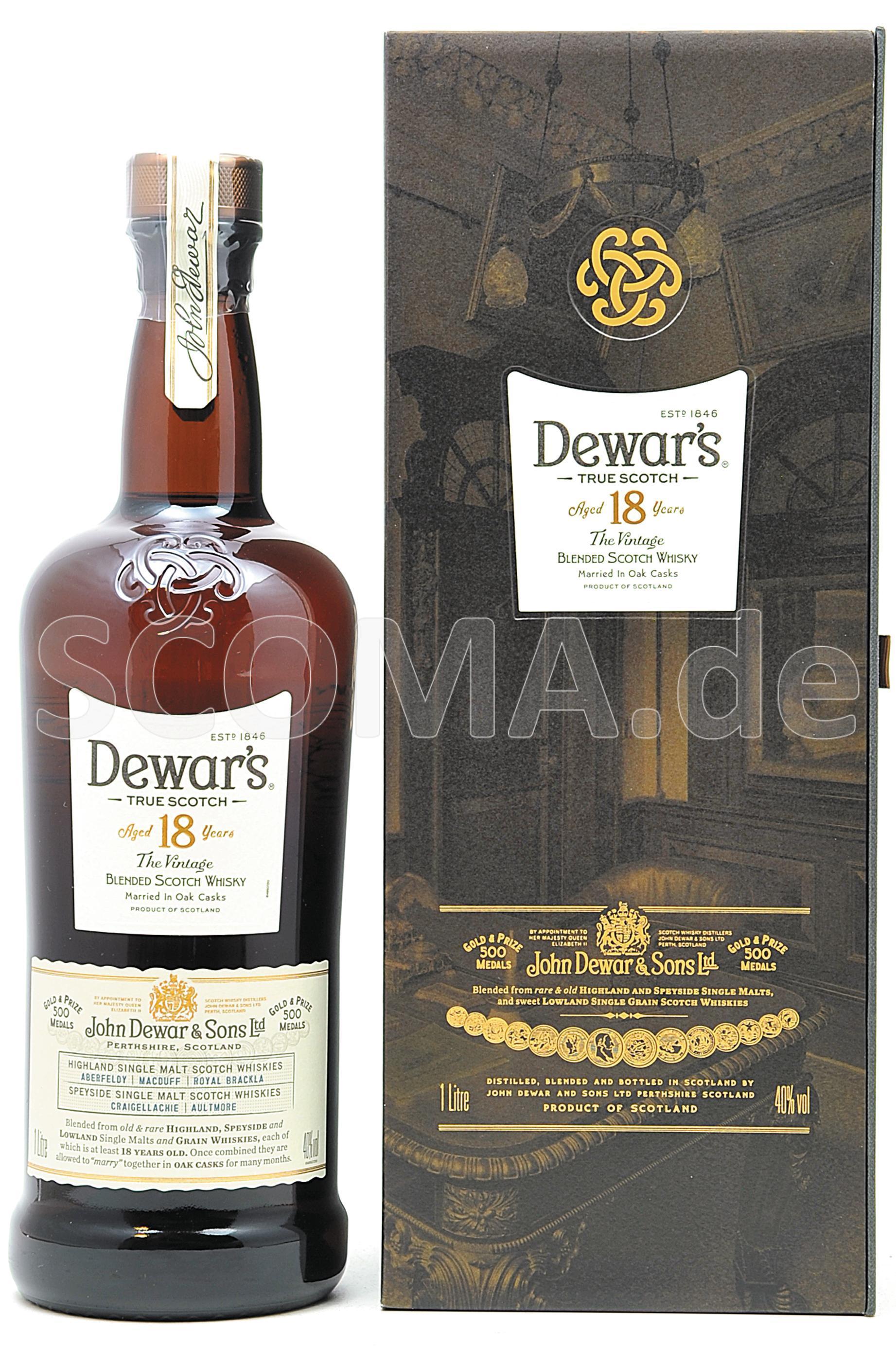 Dewar's 18 Jahre - The Vintage