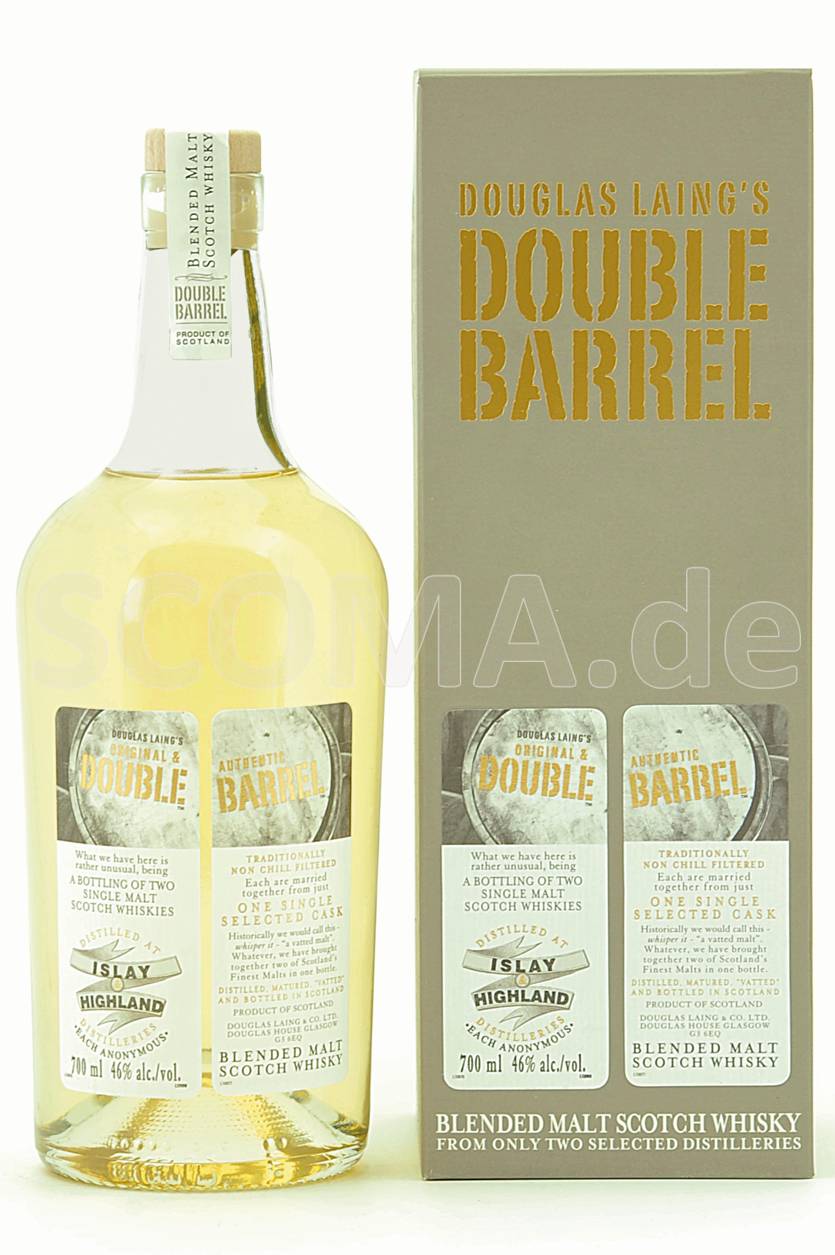Double Barrel Islay & Highland