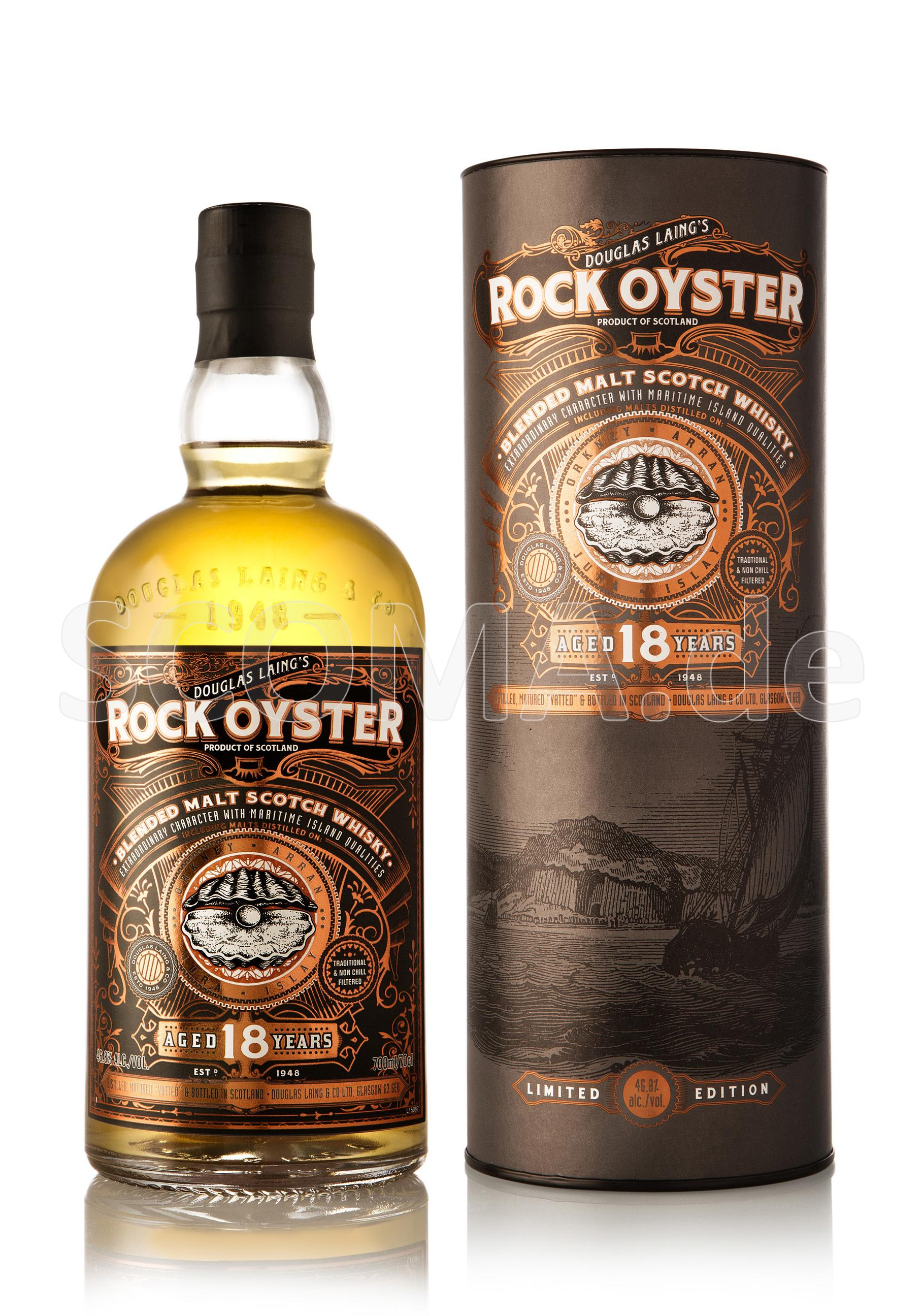Rock Oyster 18 Jahre Blended M...