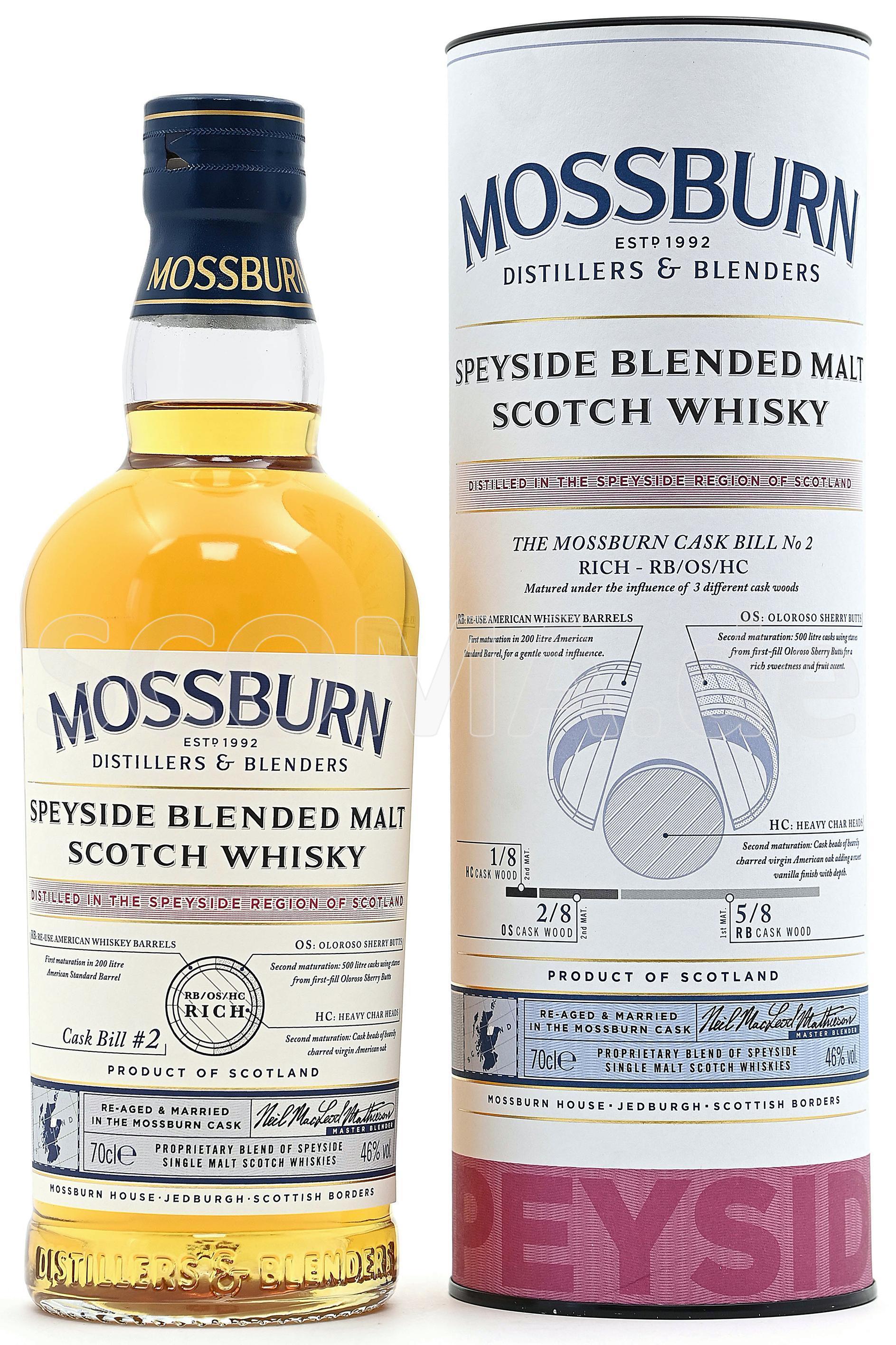 Mossburn Speyside Cask Bill No...