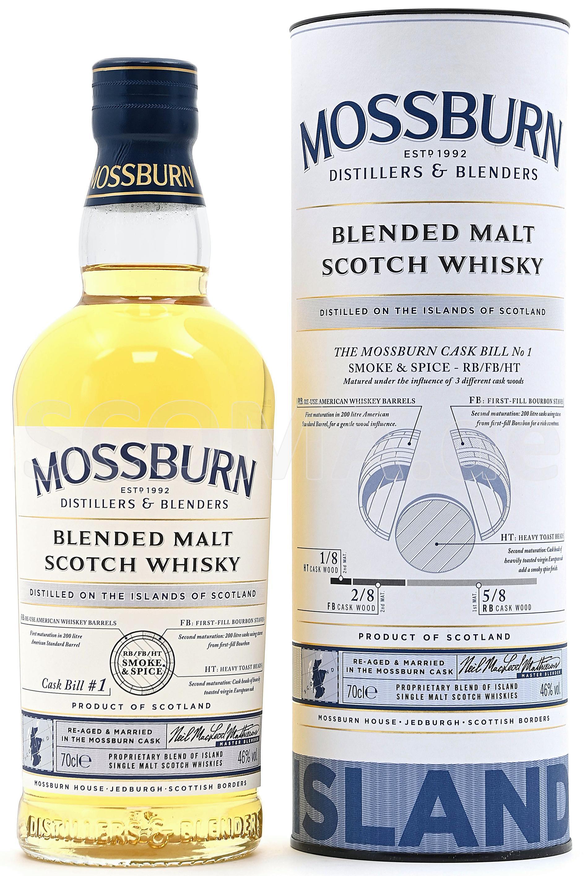 Mossburn Blended Malt Whisky -...