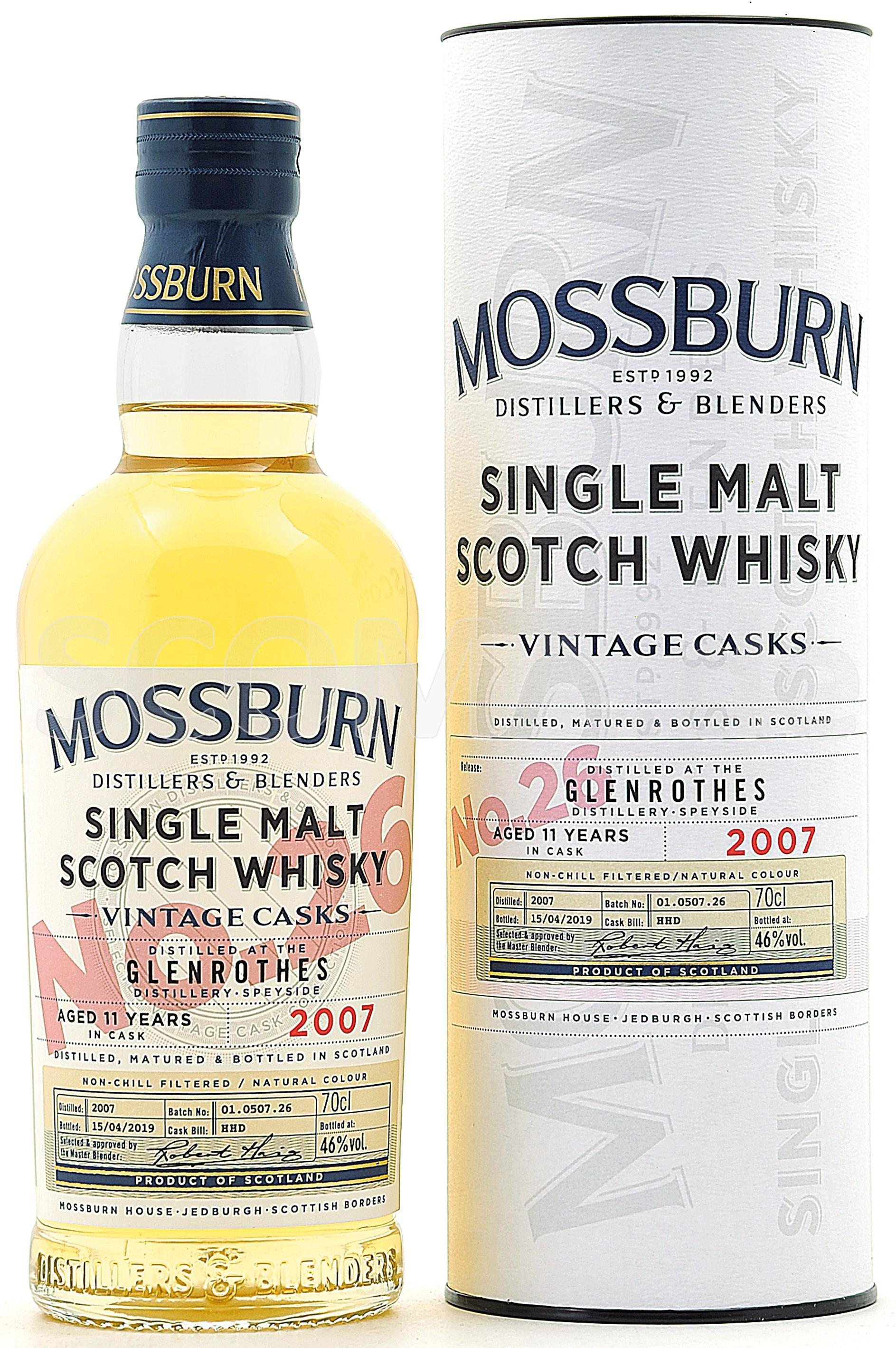 Mossburn No.26 Glenrothes 11 J...
