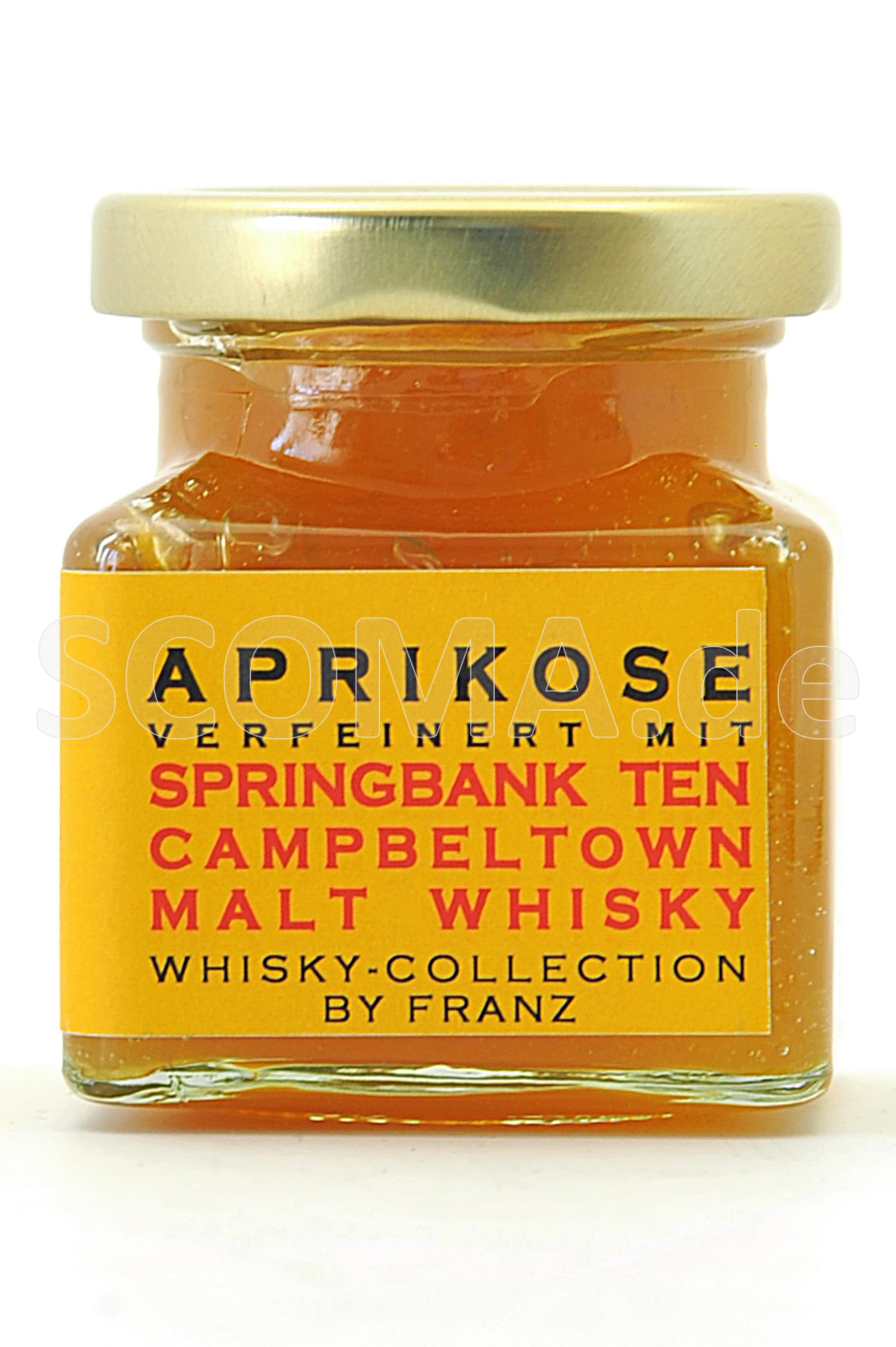Aprikose mit Springbank Ten