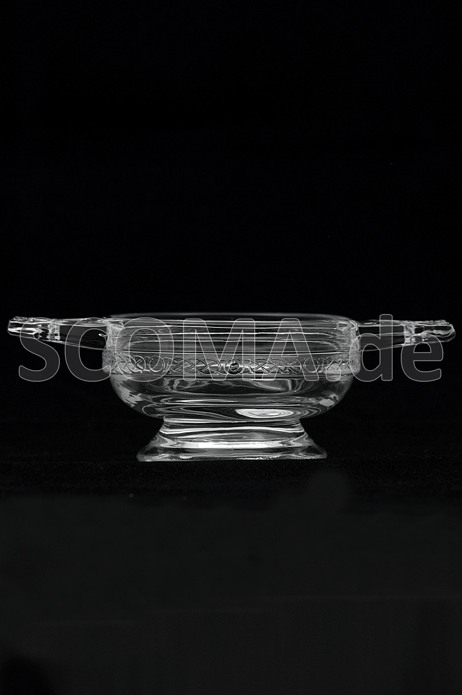 Quaich aus Glas