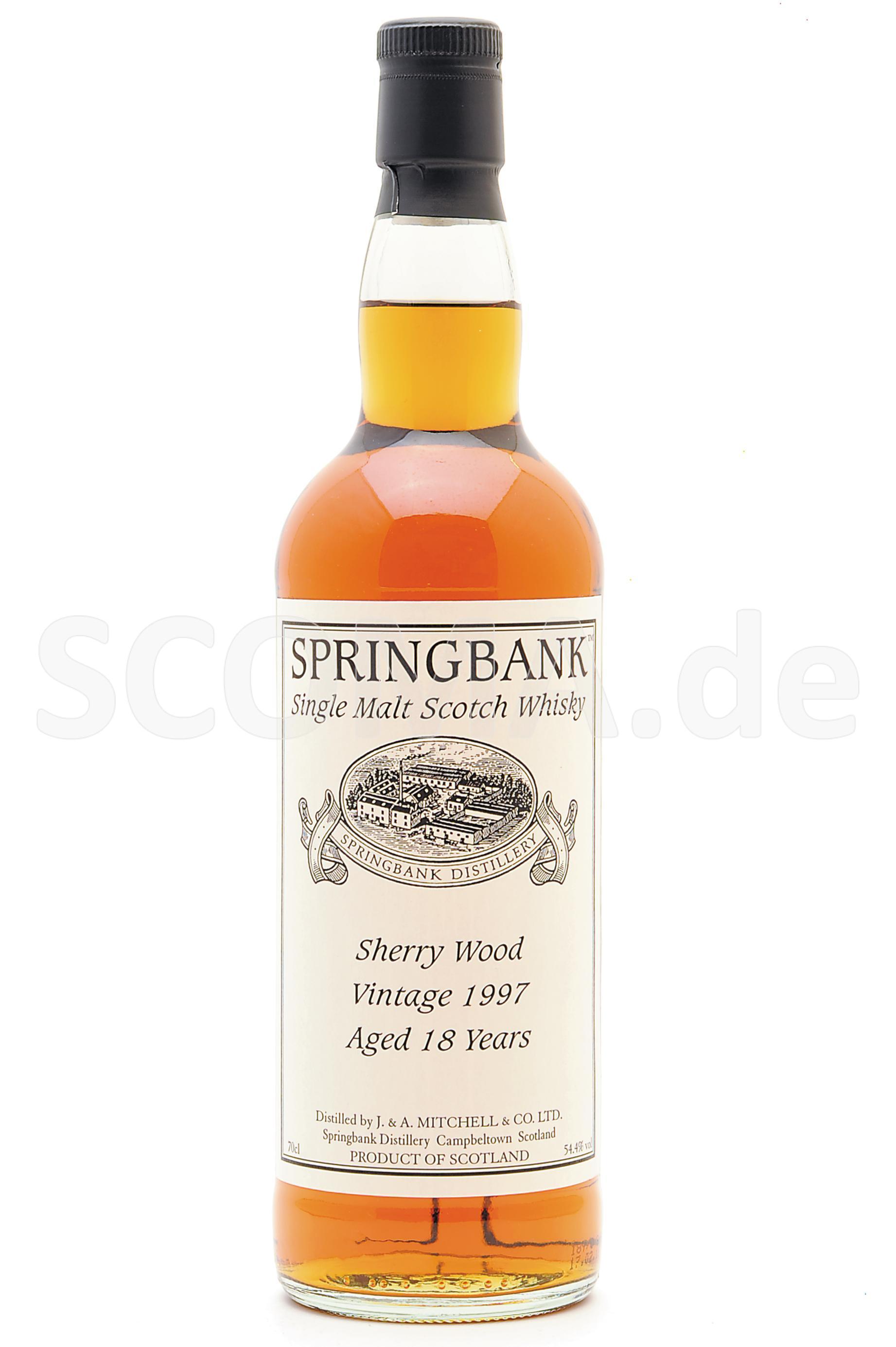 Springbank Sherry Cask 18 Jahr...