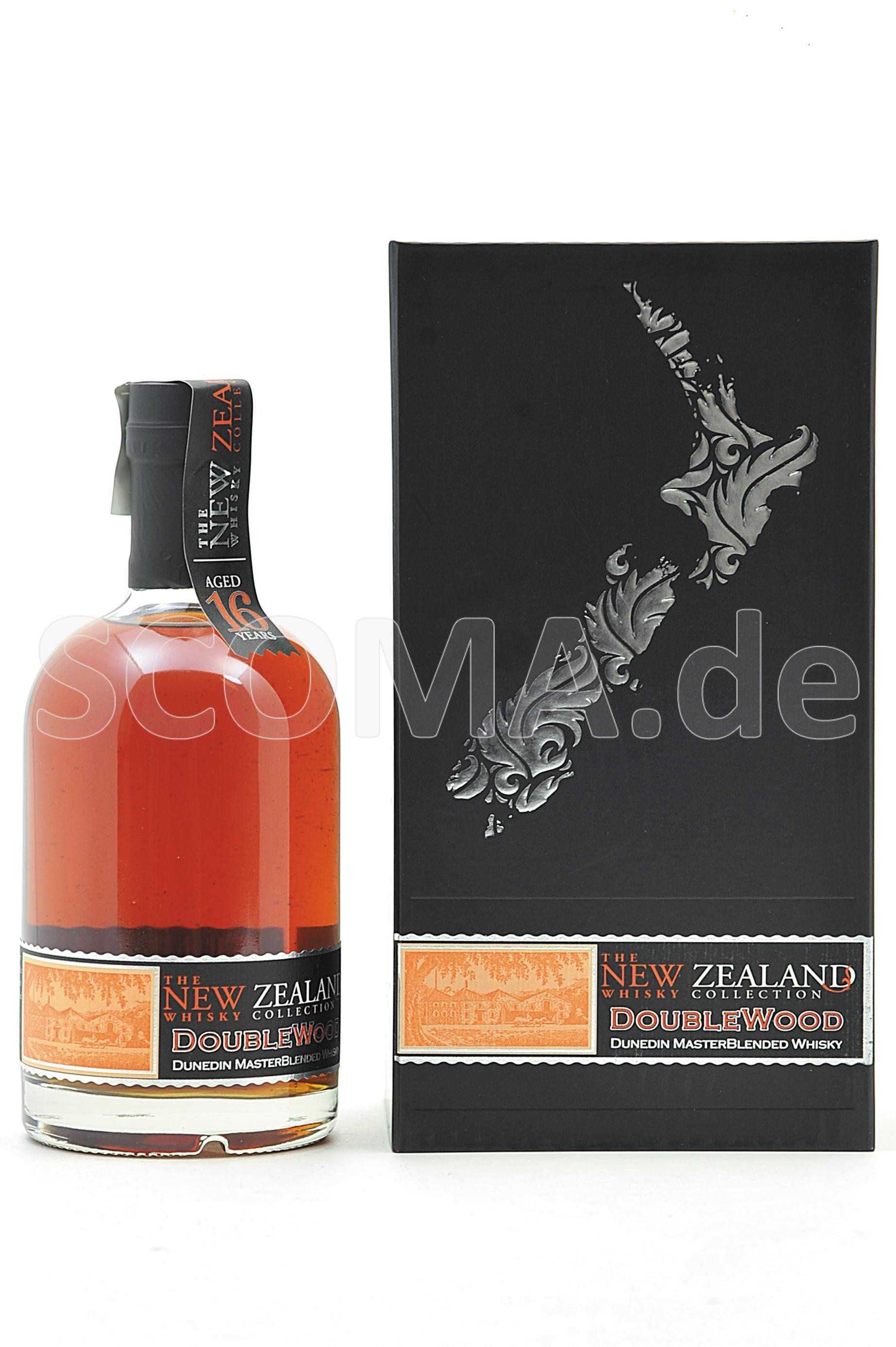 New Zealand Whisky Company Dou...