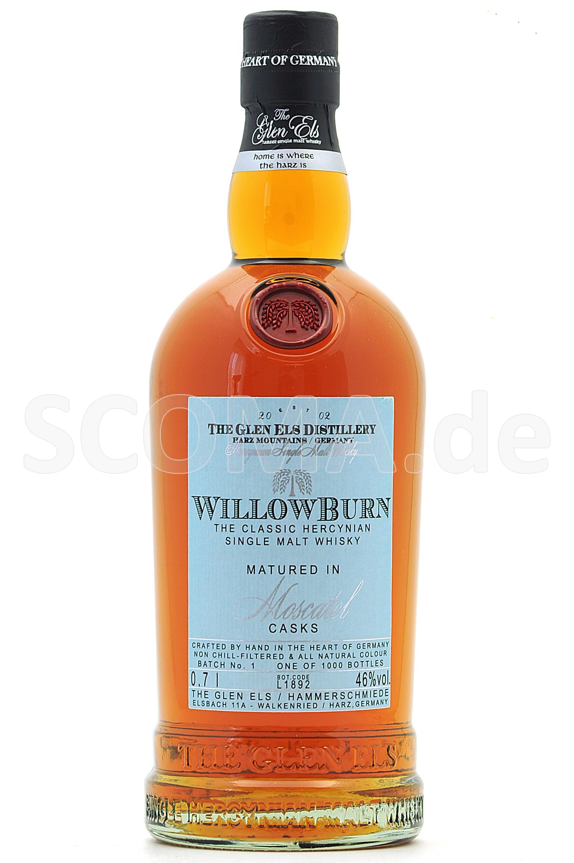 Willowburn Moscatel Casks