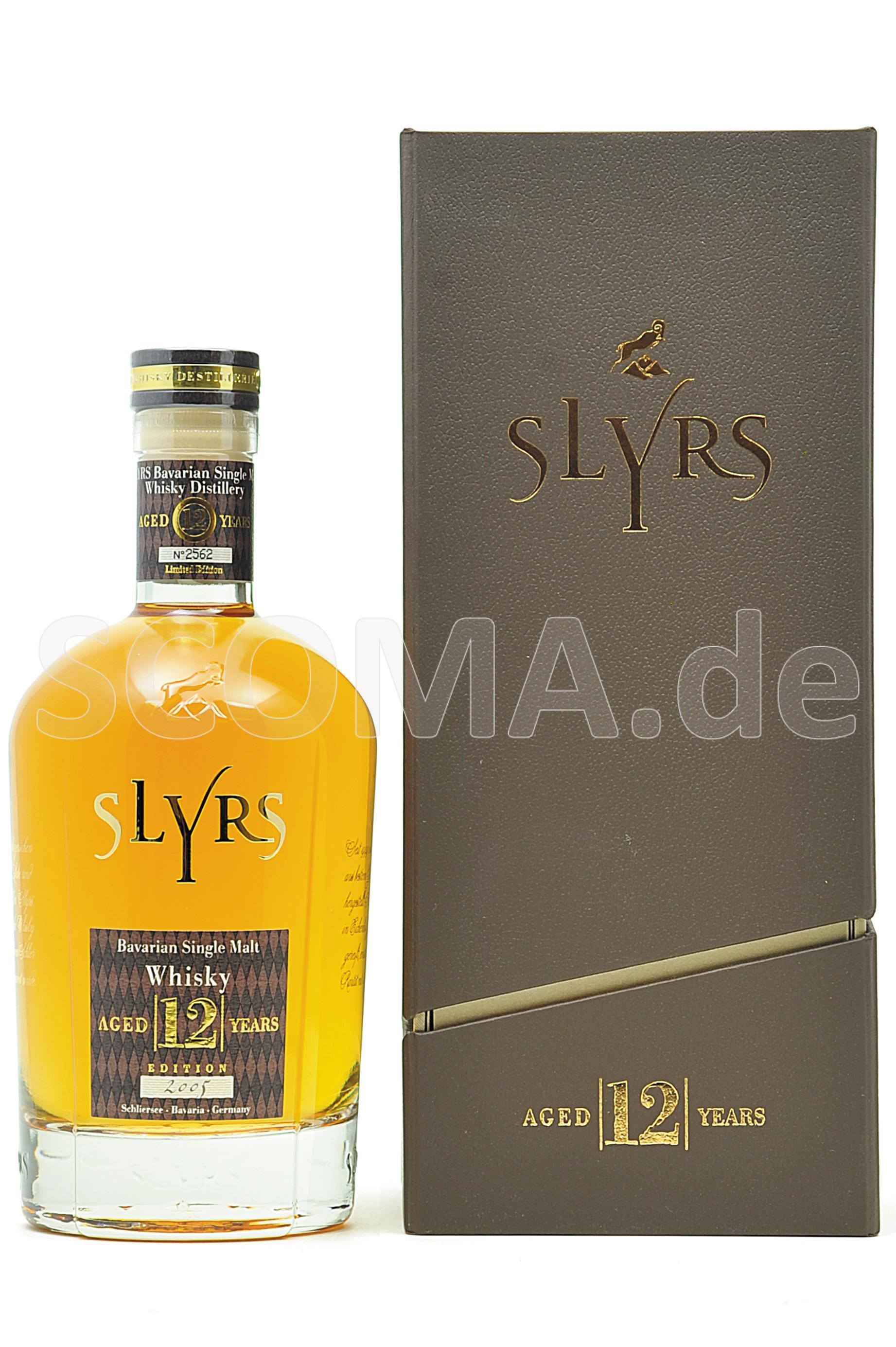 Slyrs Malt Whisky 2005/2017 12...