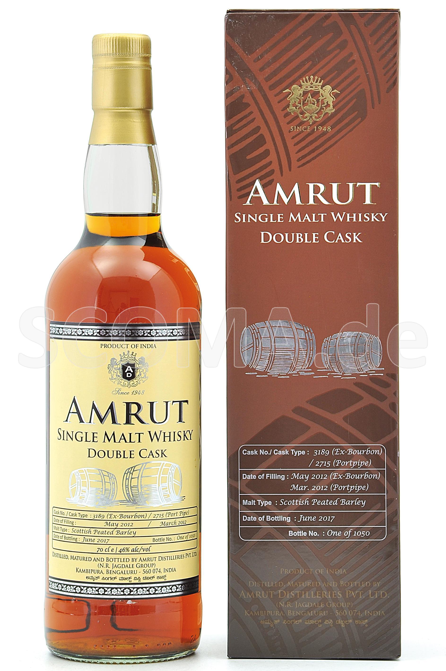 Amrut Double Cask 2012/1017