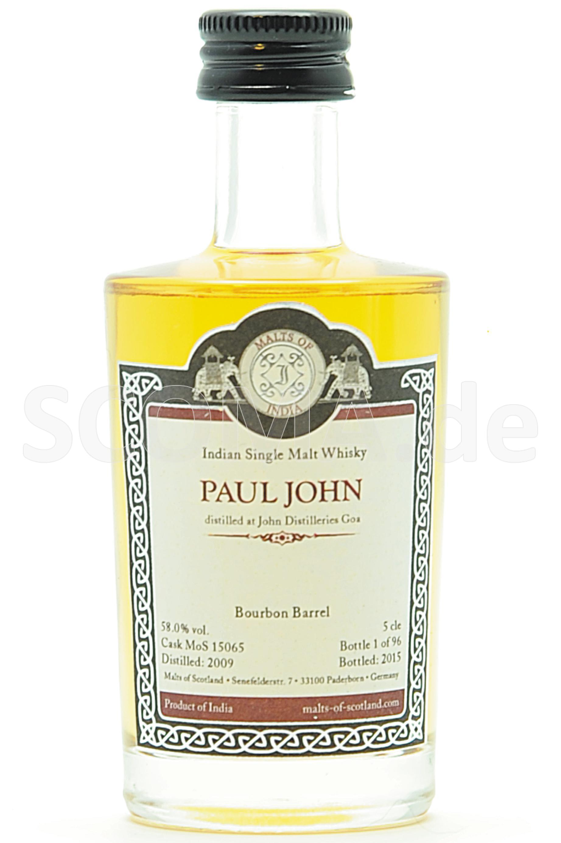 Paul John 2009/2015 Bourbon Ba...