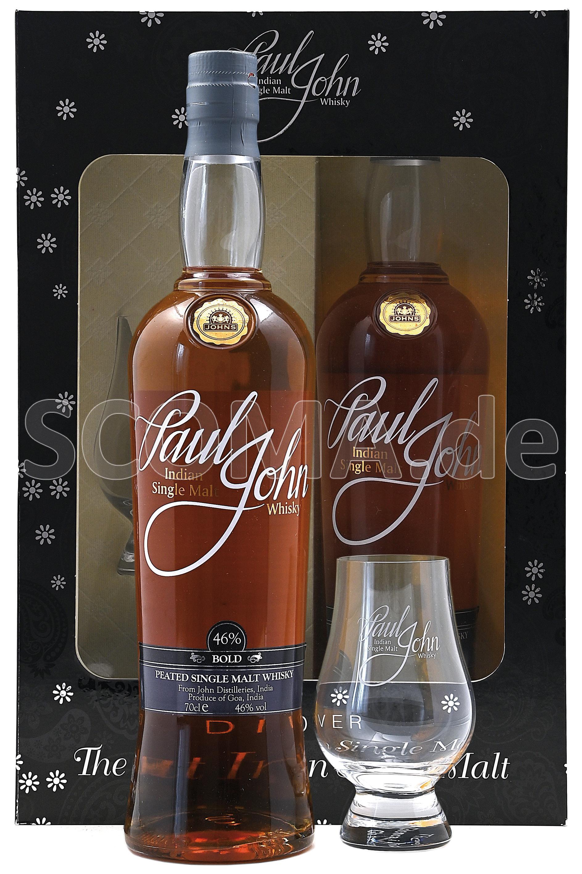 Paul John Bold Whisky - Gesche...