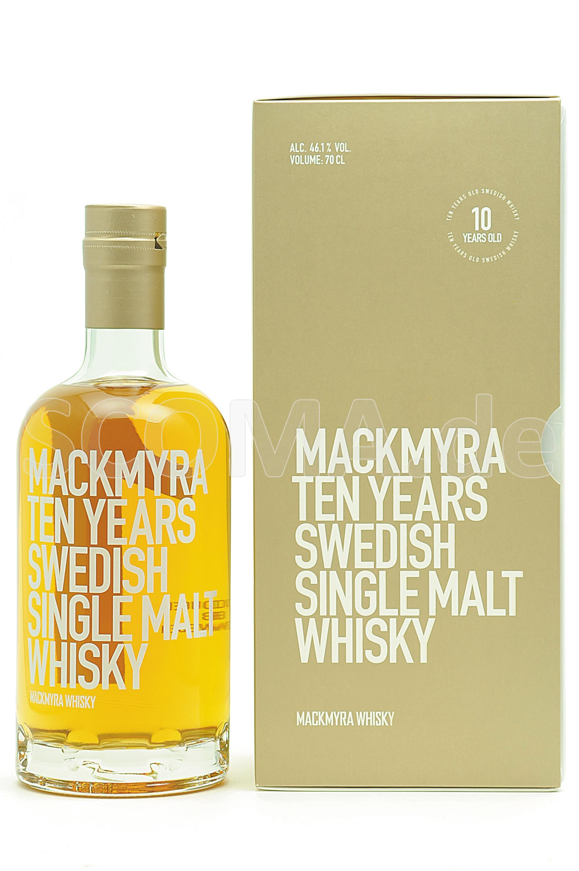 Mackmyra 10 Jahre