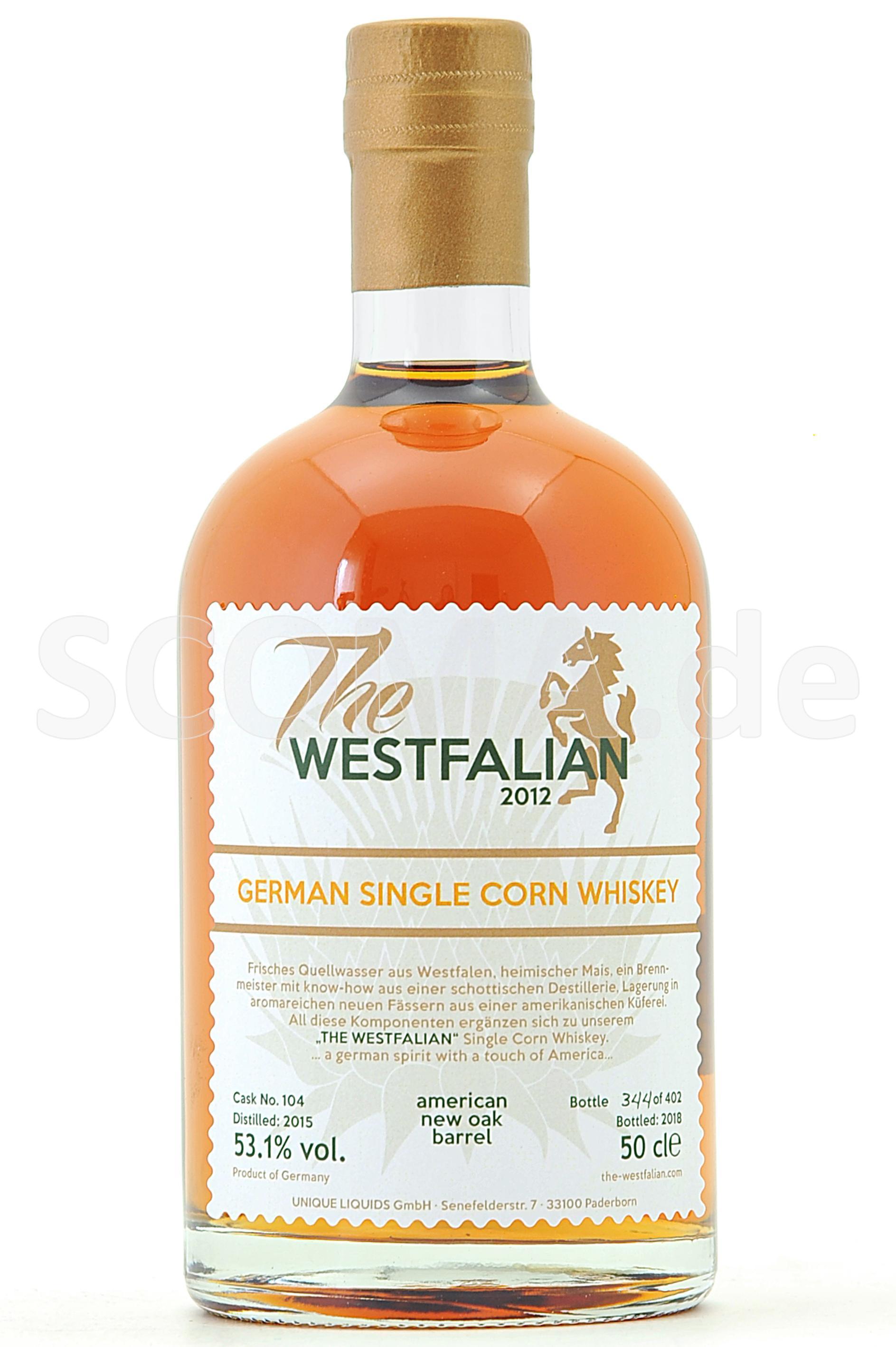 The Westfalian Corn Whisky 201...