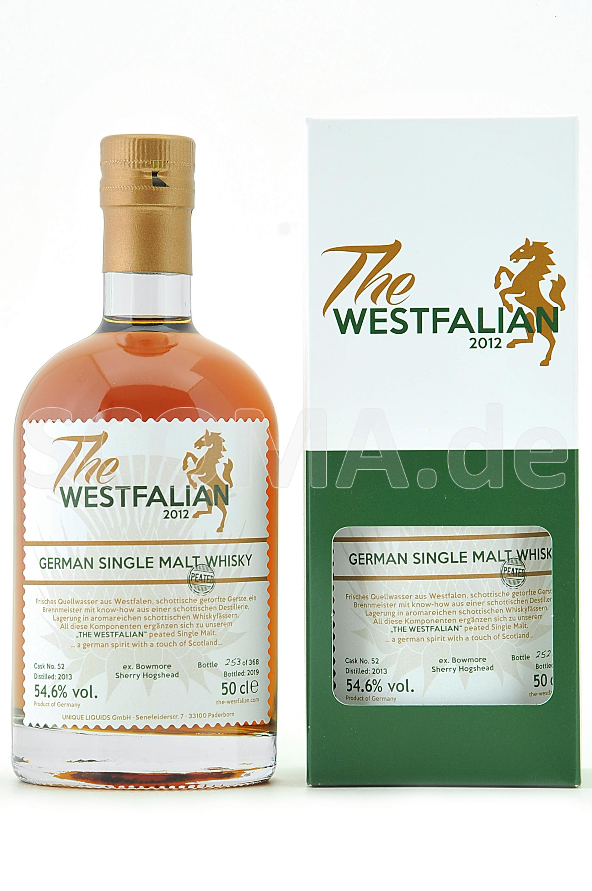 The Westfalian Malt Whisky Pea...