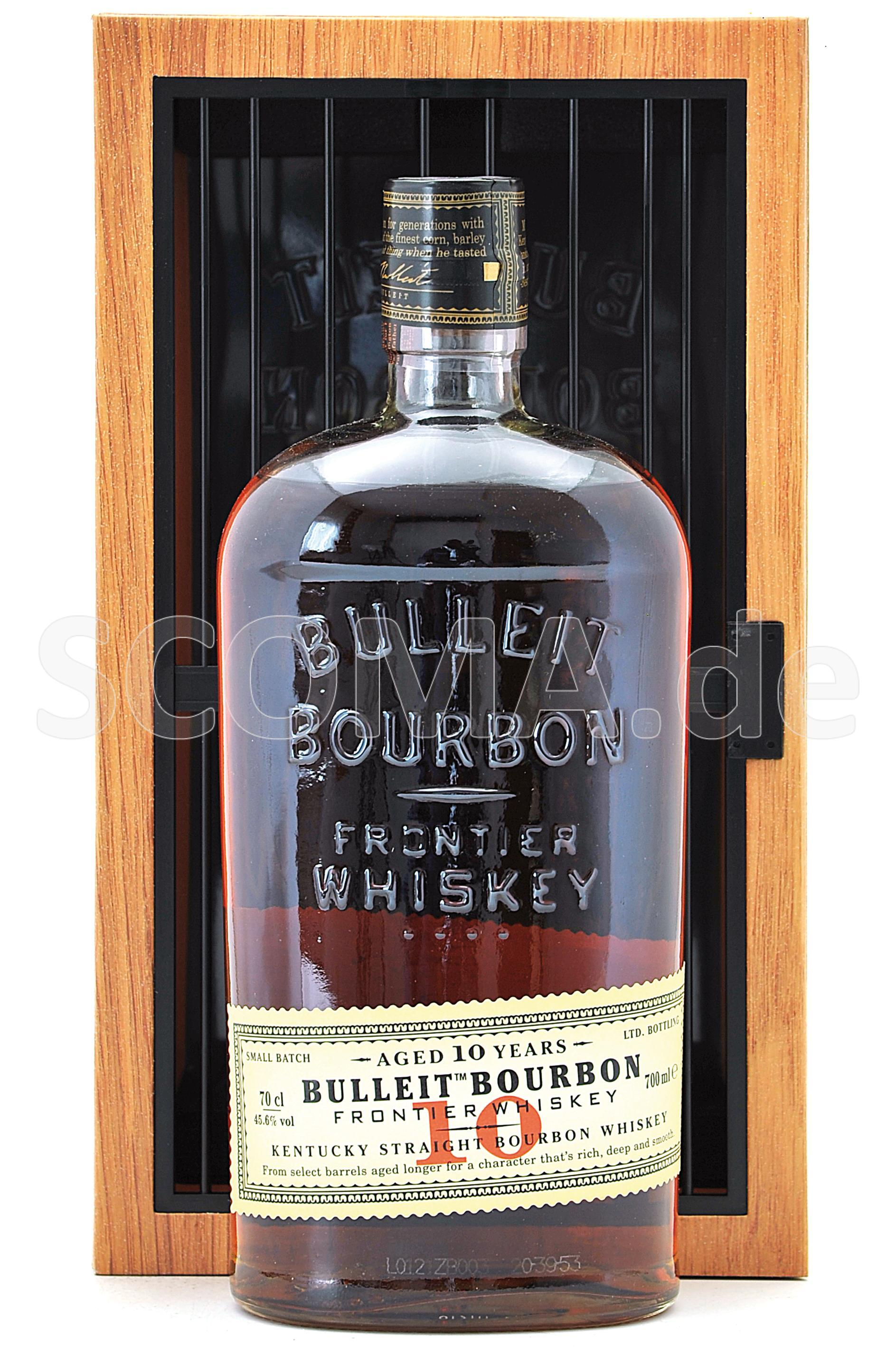 Bulleit Bourbon Whisky 10 Jahr...