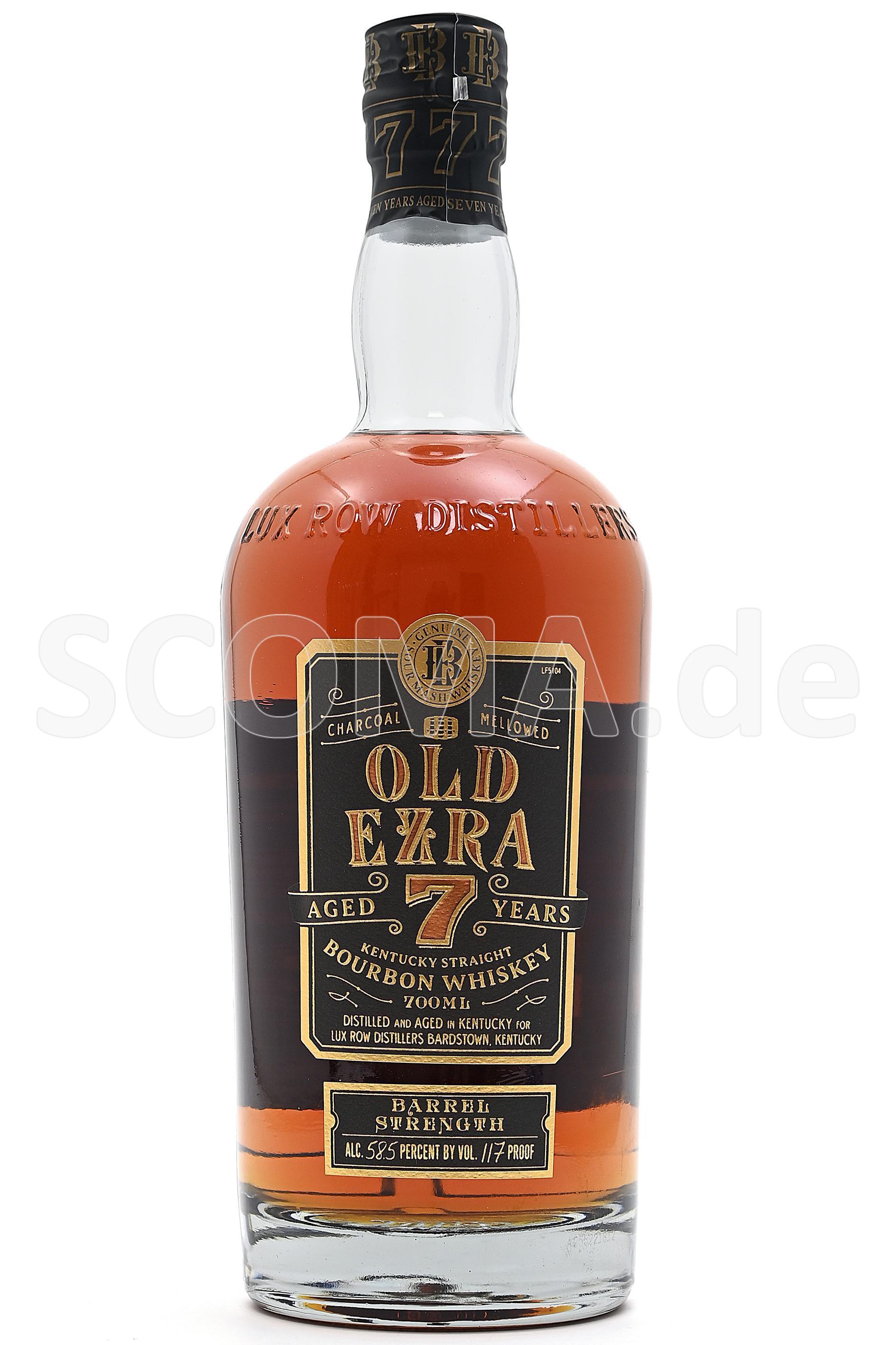 Old Ezra 7 Jahre Barrel Streng...