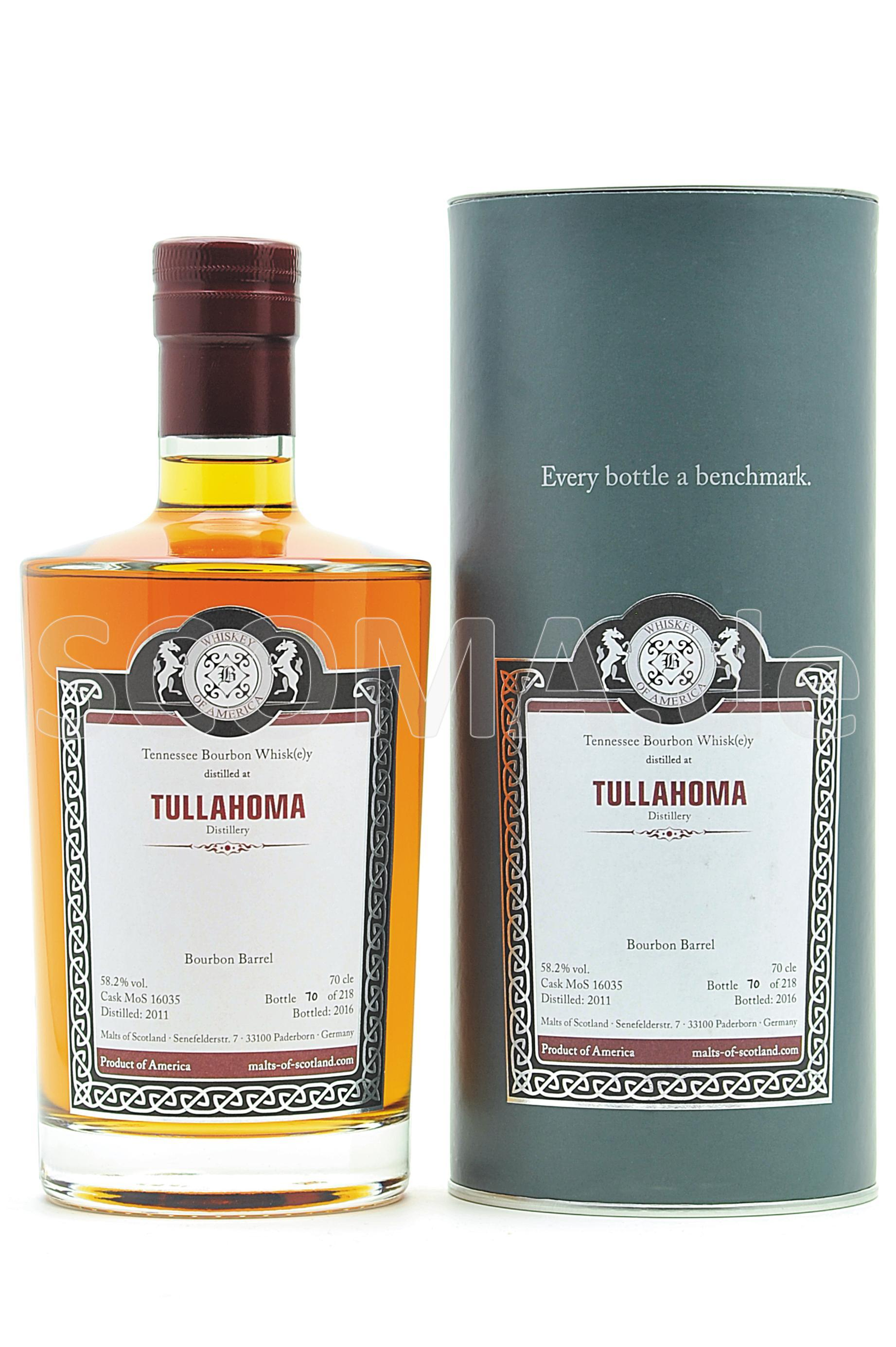 Tullahoma Tennessee Bourbon Wh...