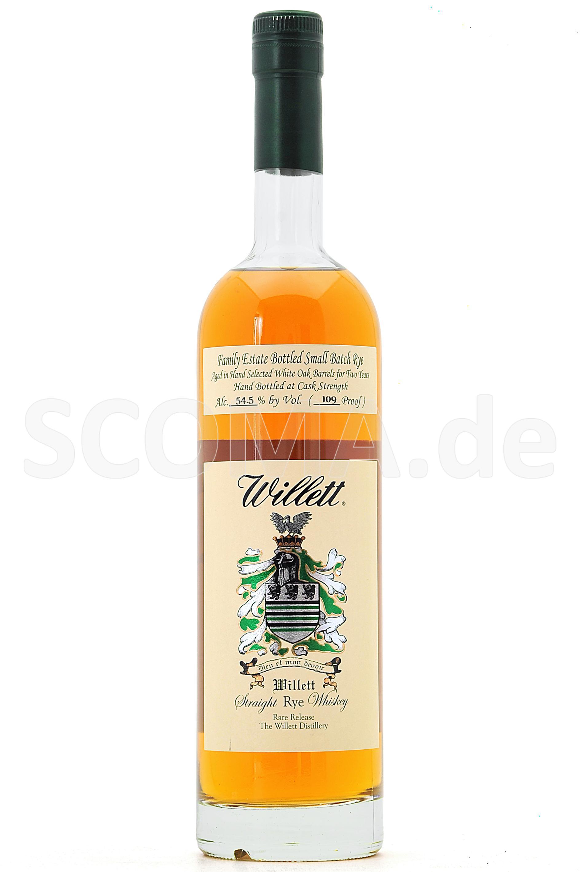 Willett Rye Whiskey