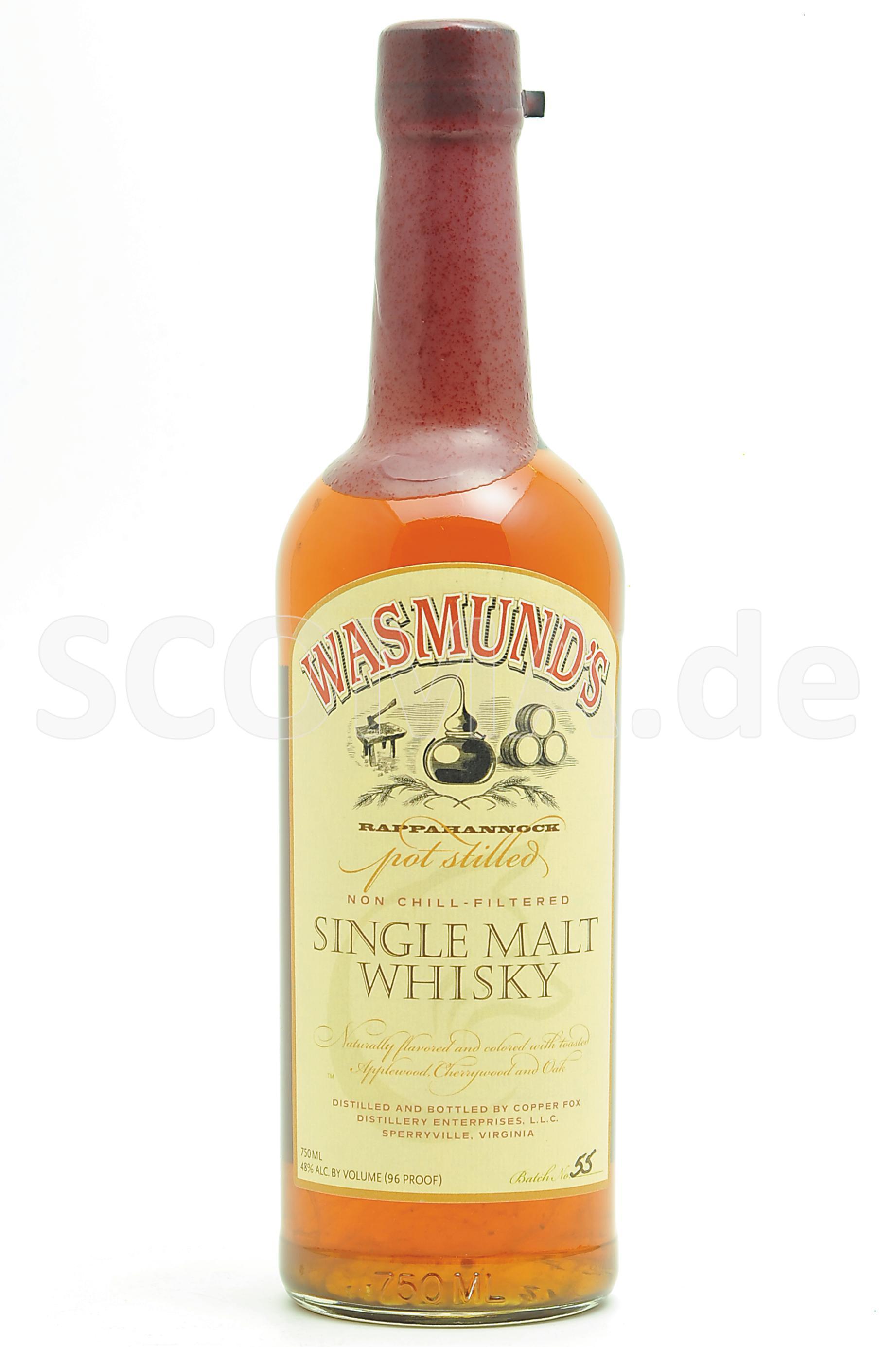 Wasmund's Single Malt Whiskey