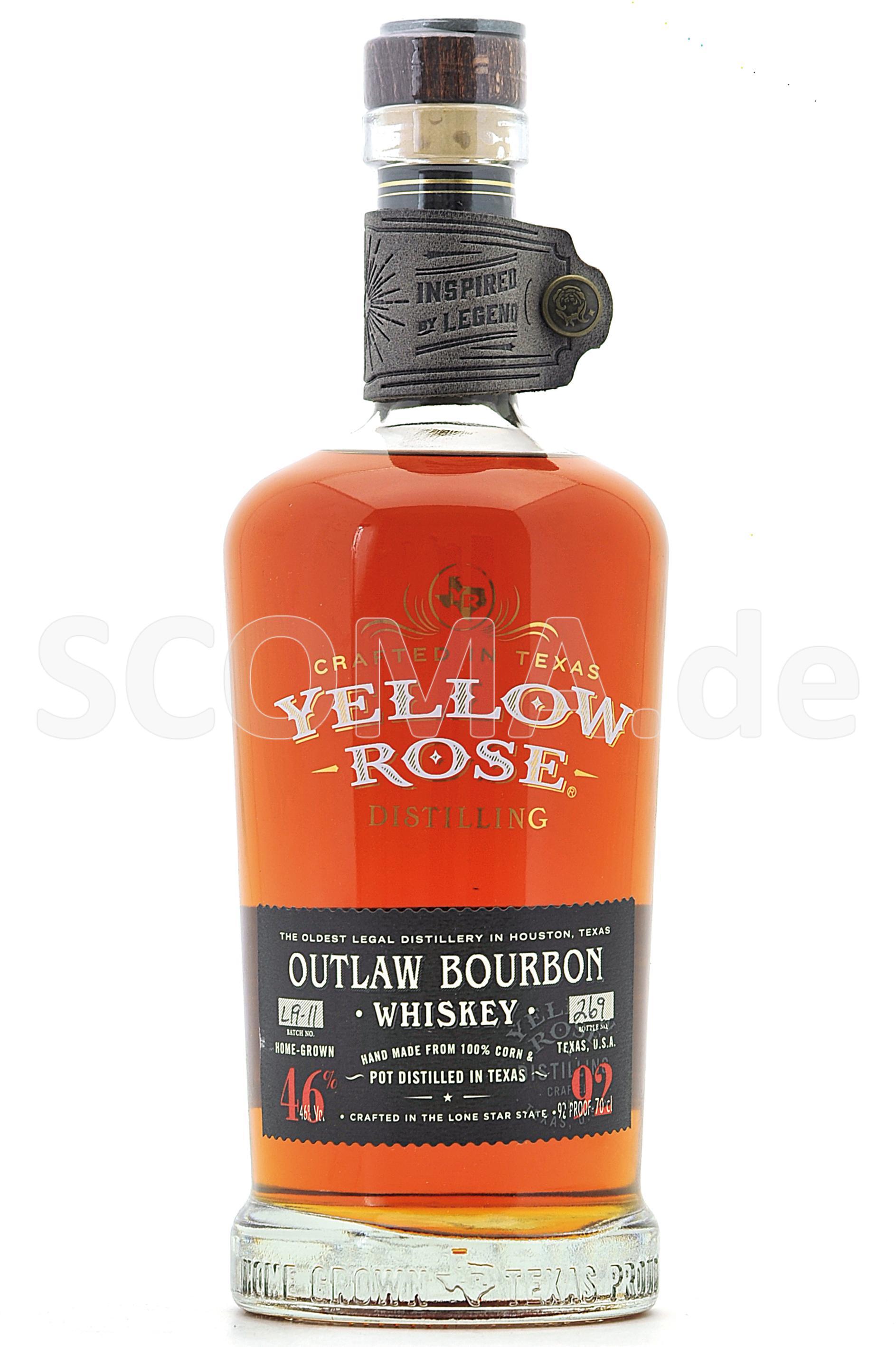 Yellow Rose Outlaw Bourbon Whi...
