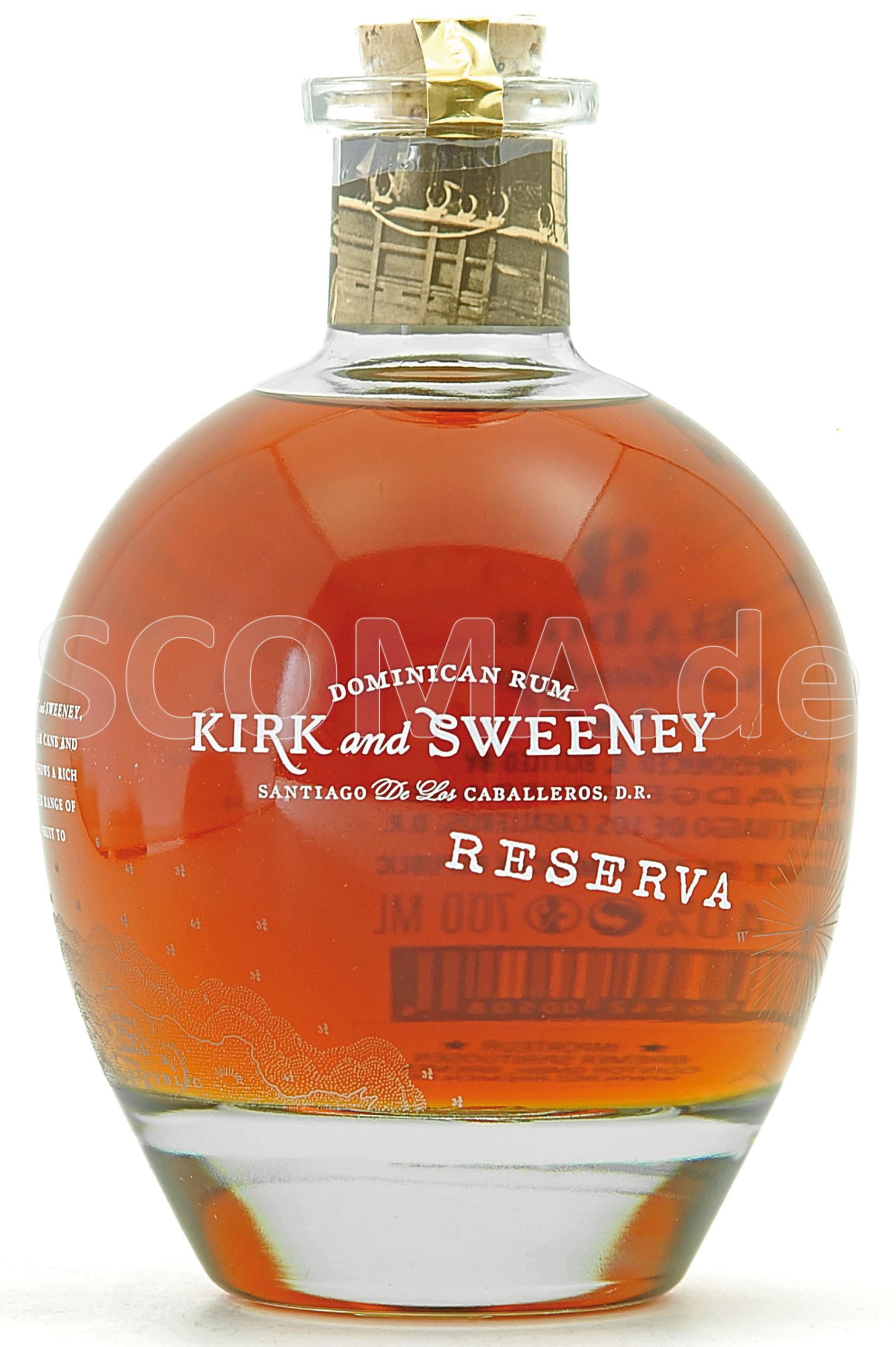 Kirk and Sweeney Reserva Rum