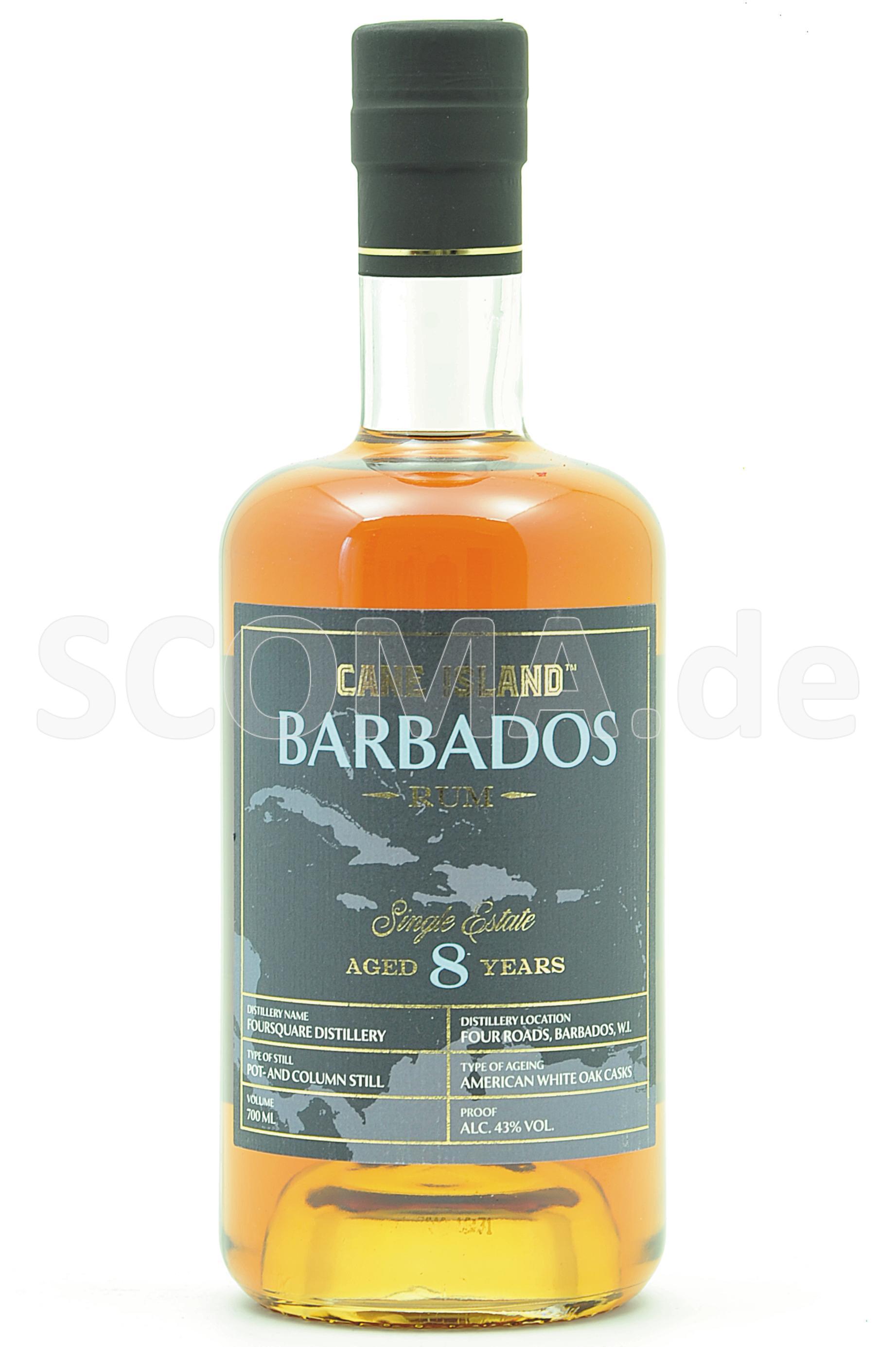 Cane Island Barbados Rum 8 Jah...