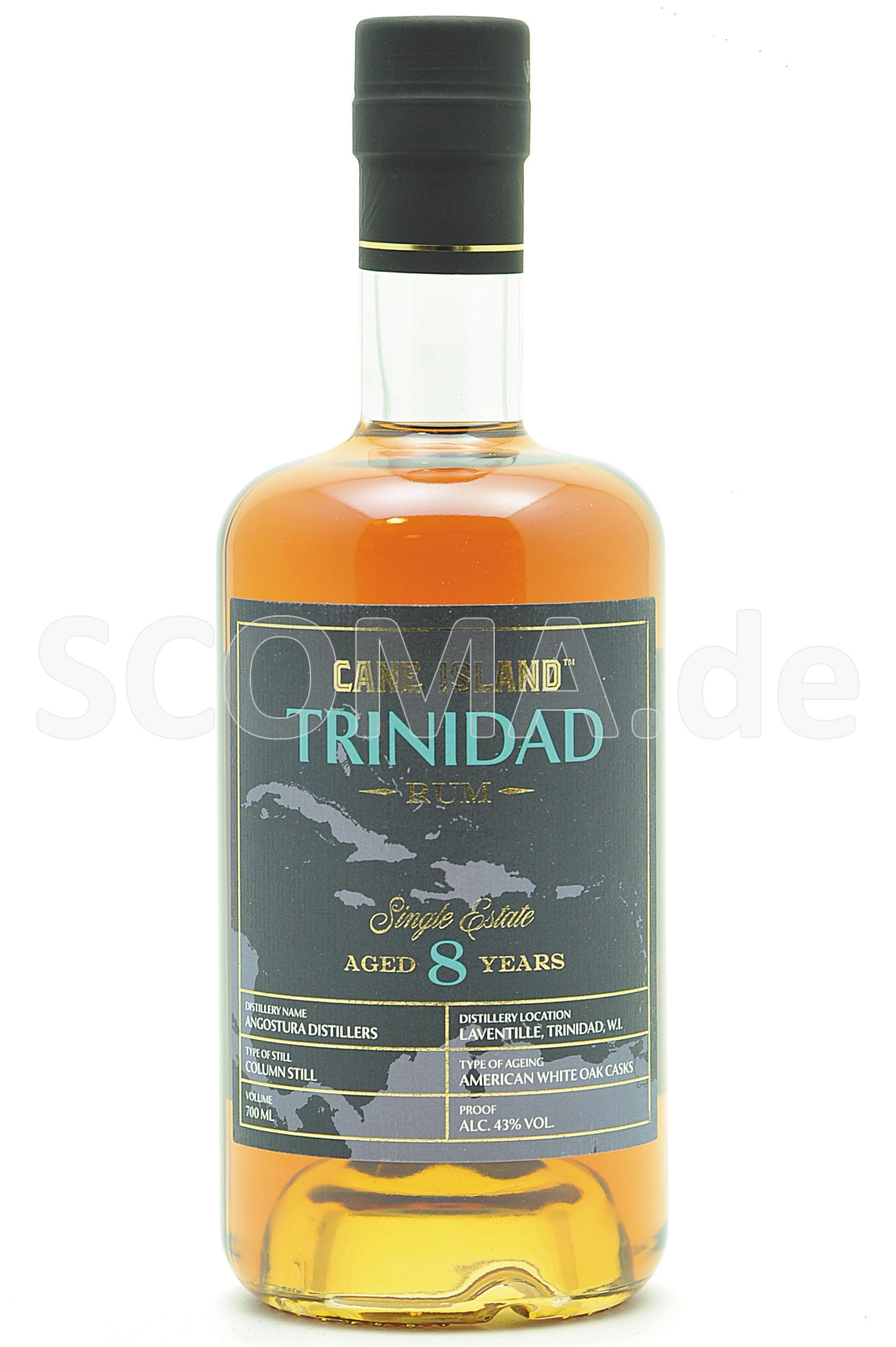 Cane Island Trinidad Rum 8 yea...