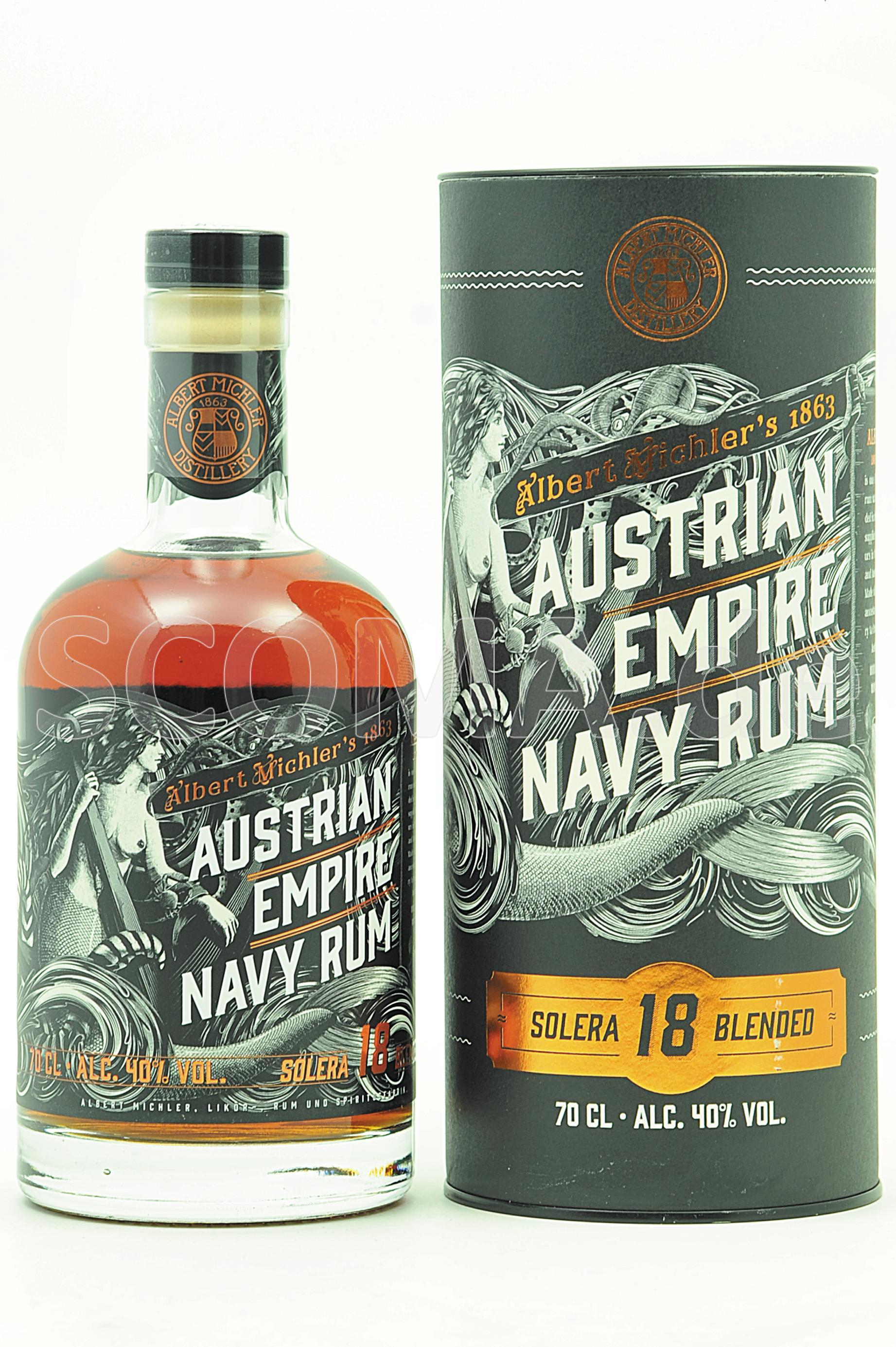 Austrian Empire Navy Rum 18 Ja...