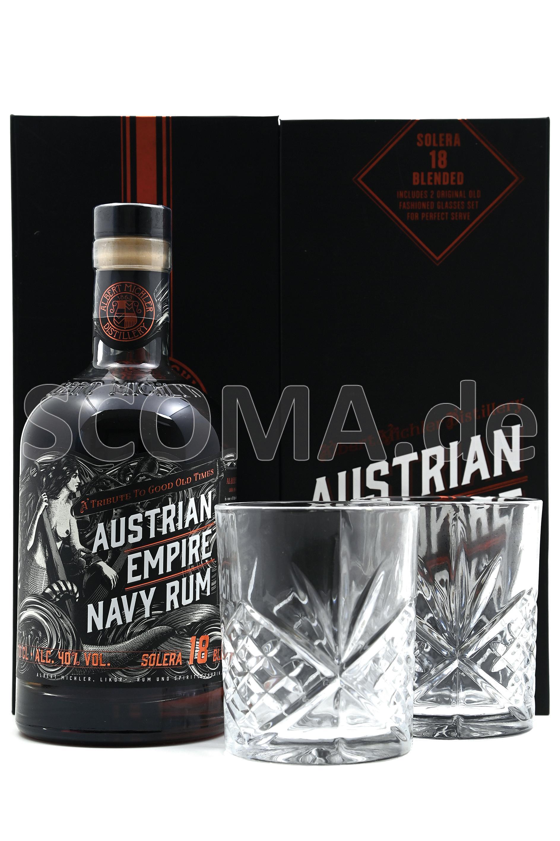 Austrian Empire Rum 18 Jahre m...