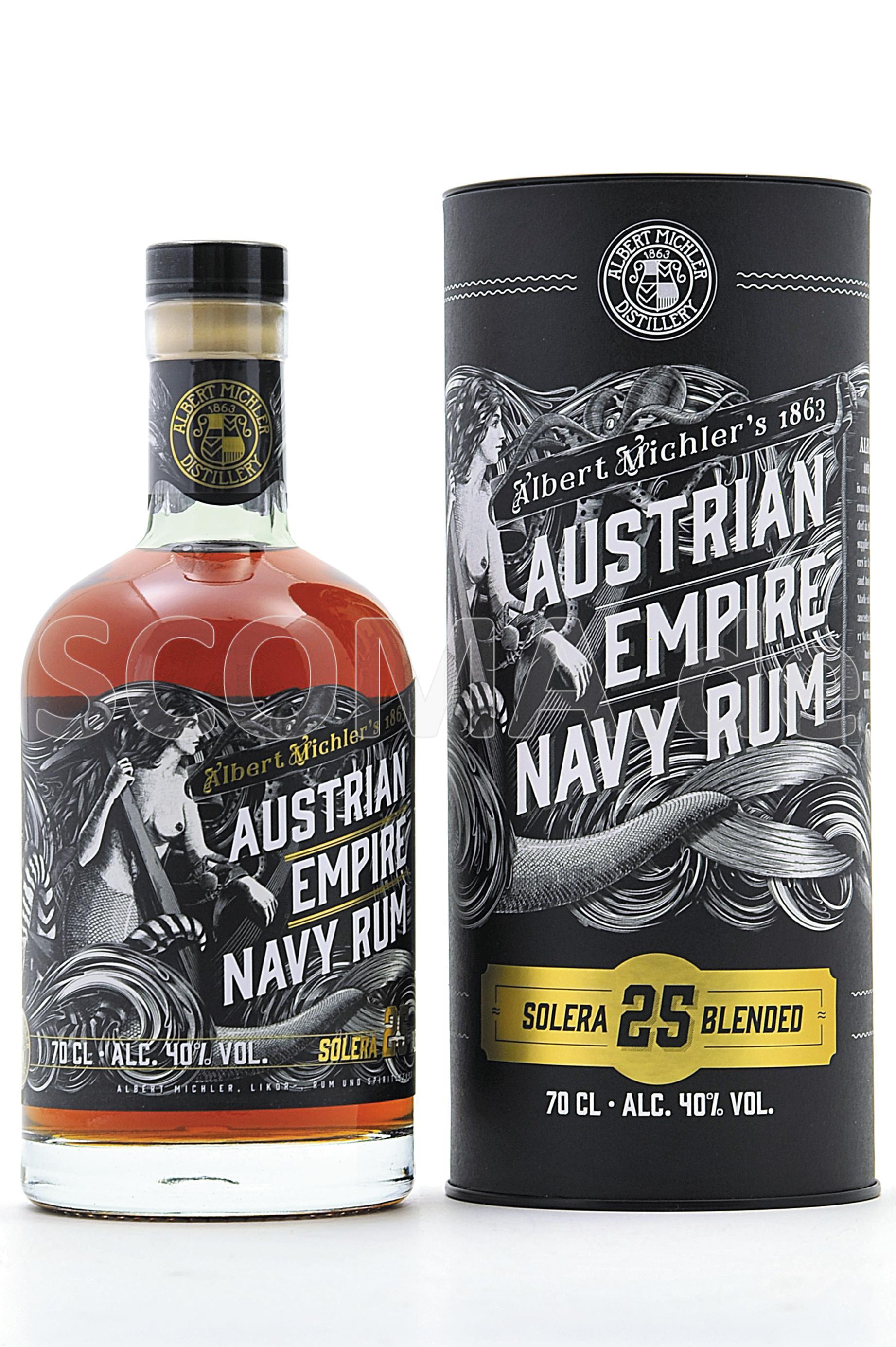 Austrian Empire Navy Rum 25 Ja...