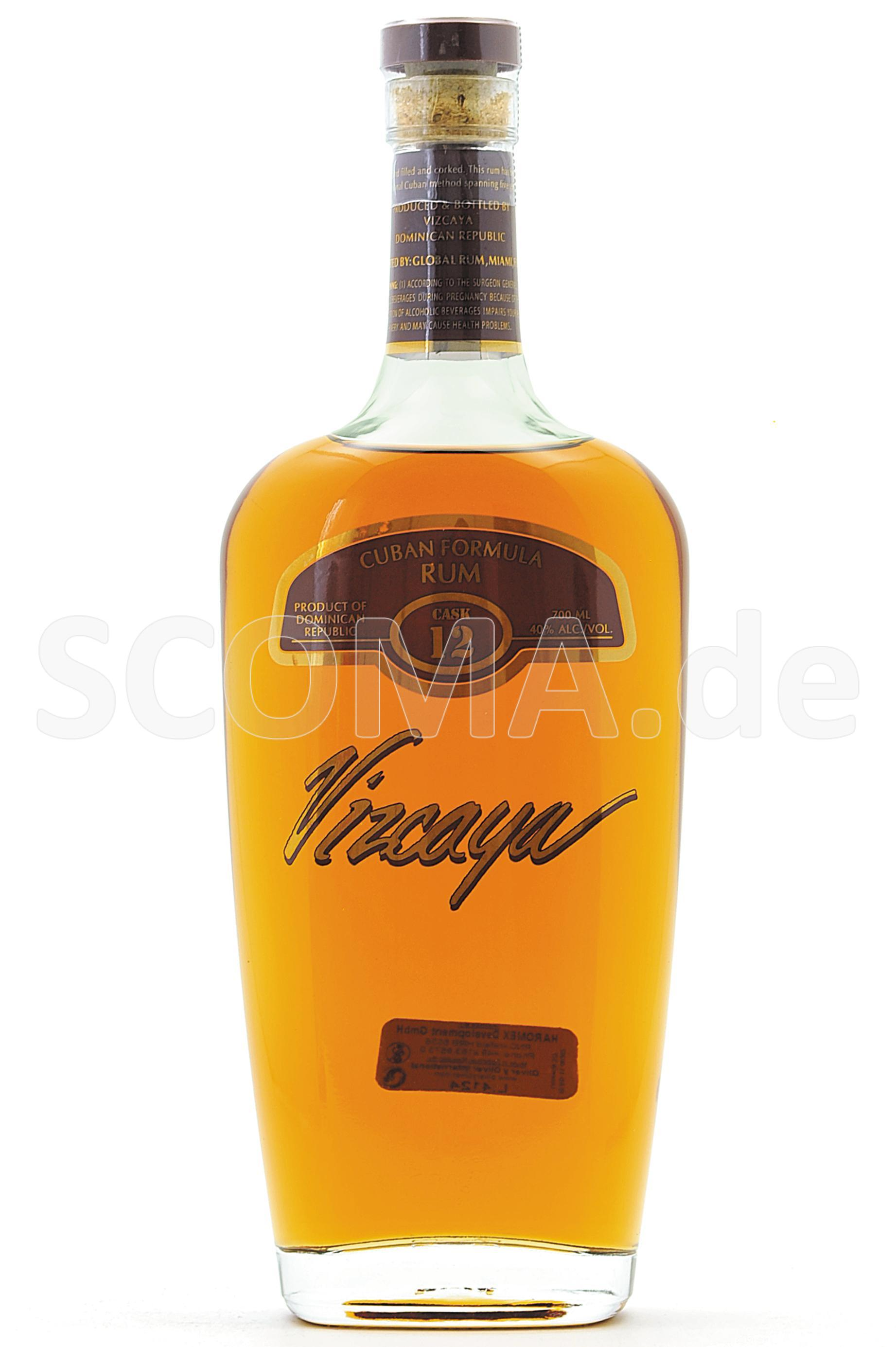 Vizcaya Rum 12 years