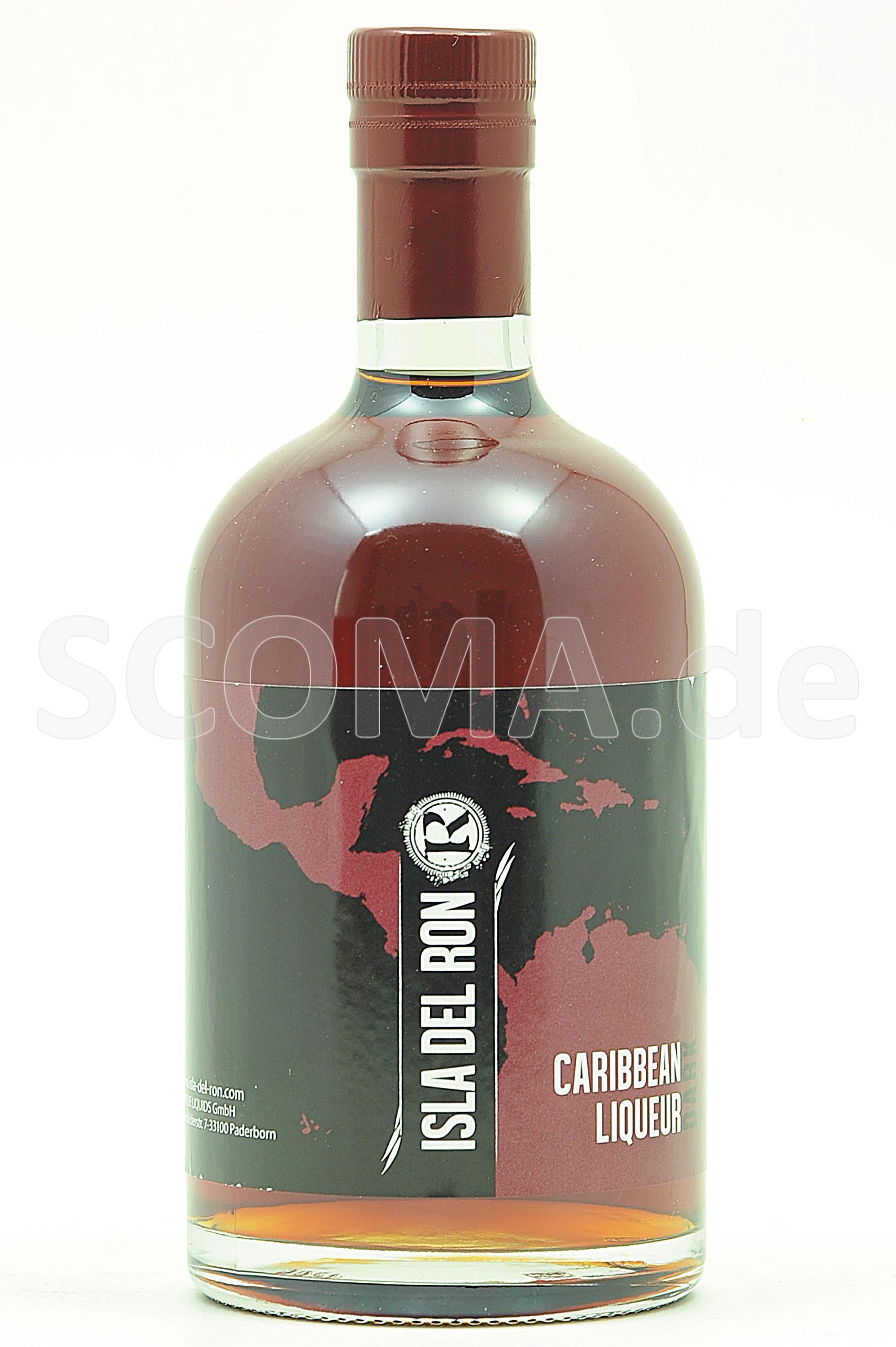 Isla del Ron Caribbean Liqueur...