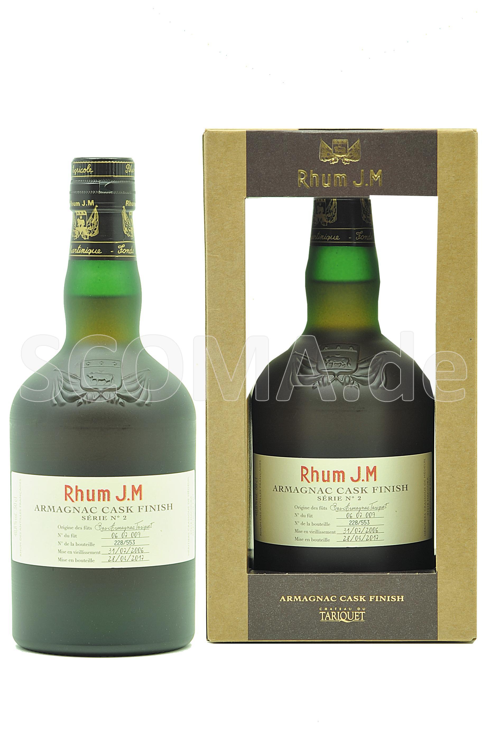 Rhum J.M. Cognac Cask Finish 2...