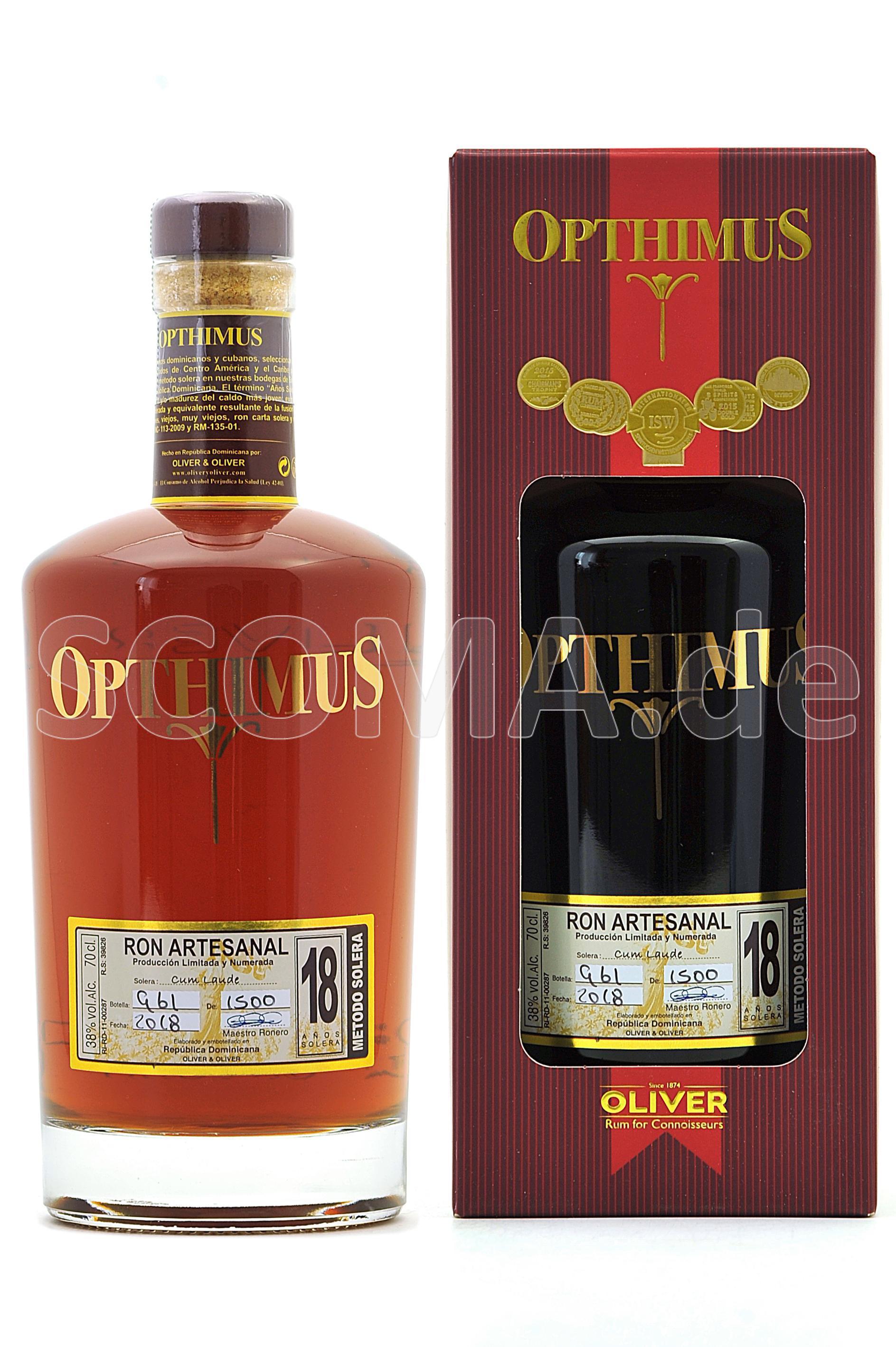 Opthimus Rum 18 years Solera R...