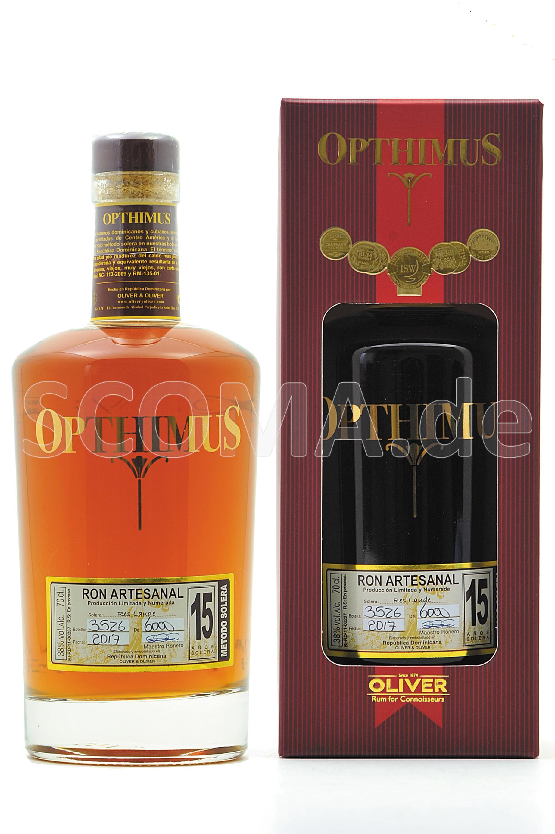Opthimus 15 years Solera