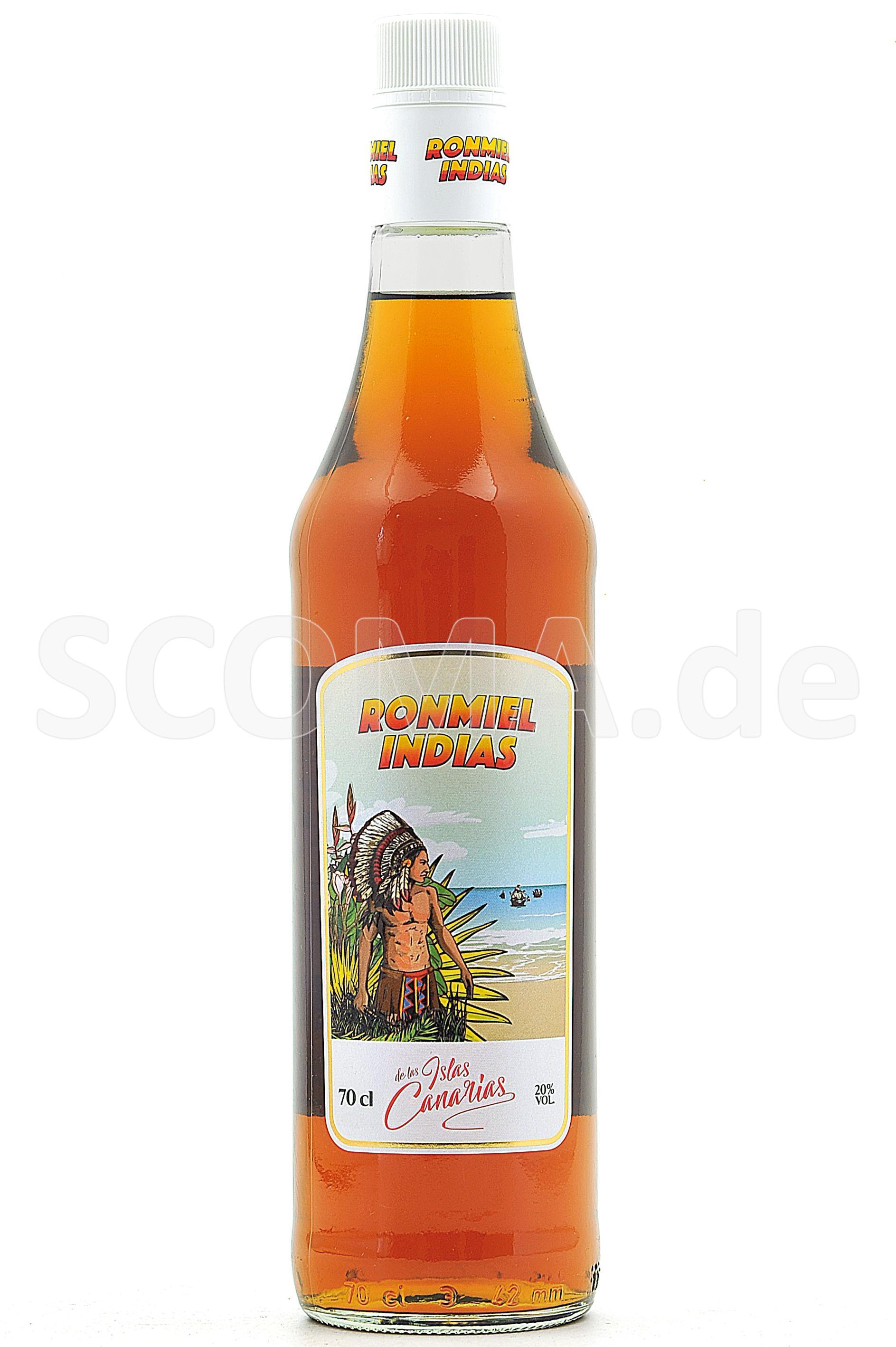 Ron Miel Indias Honey & Rum